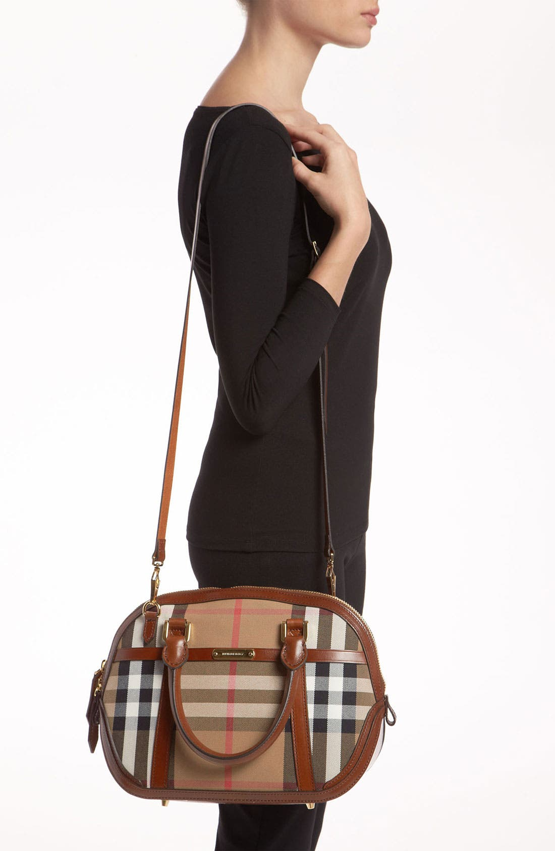 Alternate Image 2  - Burberry 'House Check' Crossbody Satchel