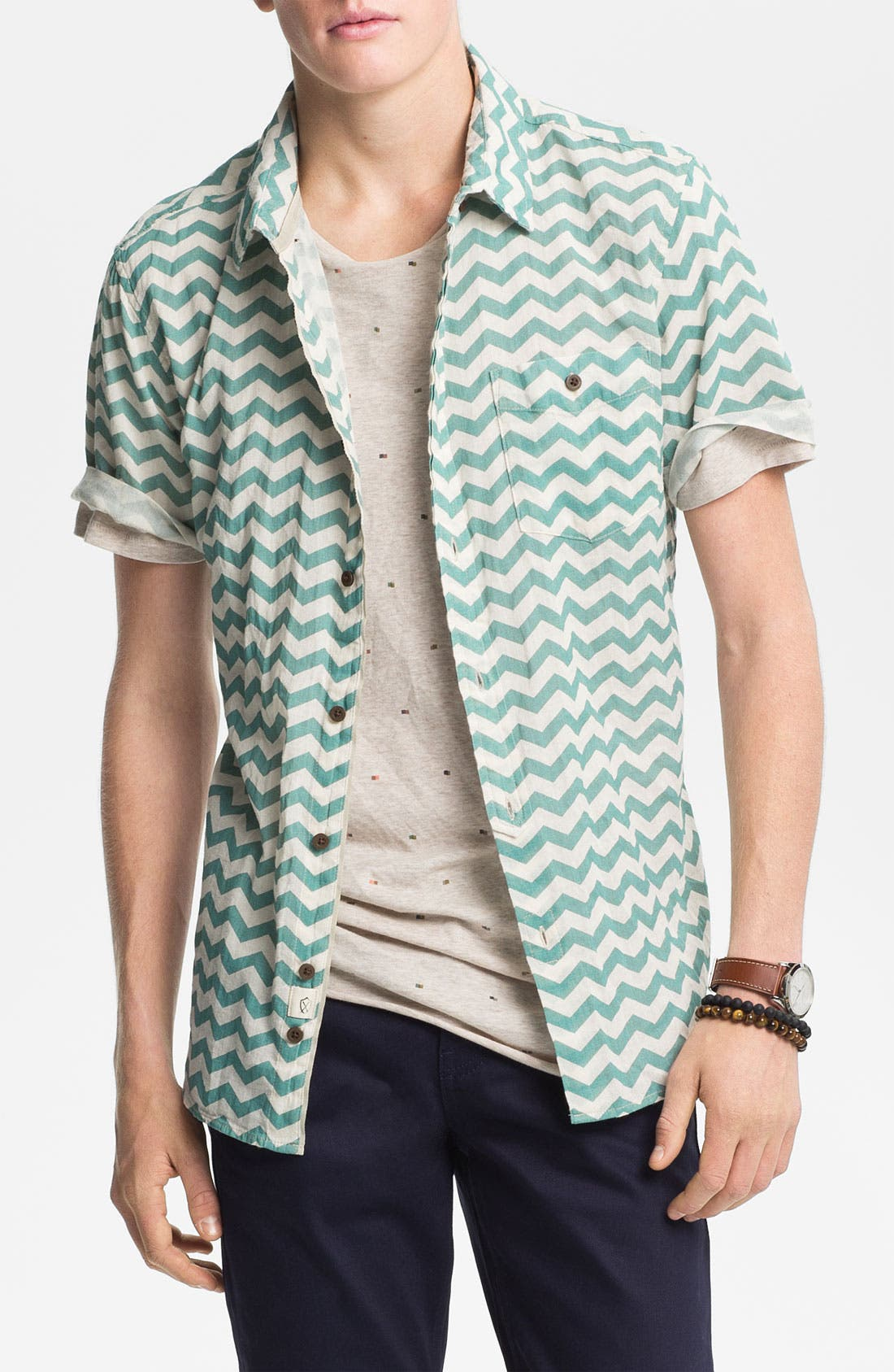 Alternate Image 1 Selected - Zanerobe 'Bay' Woven Shirt