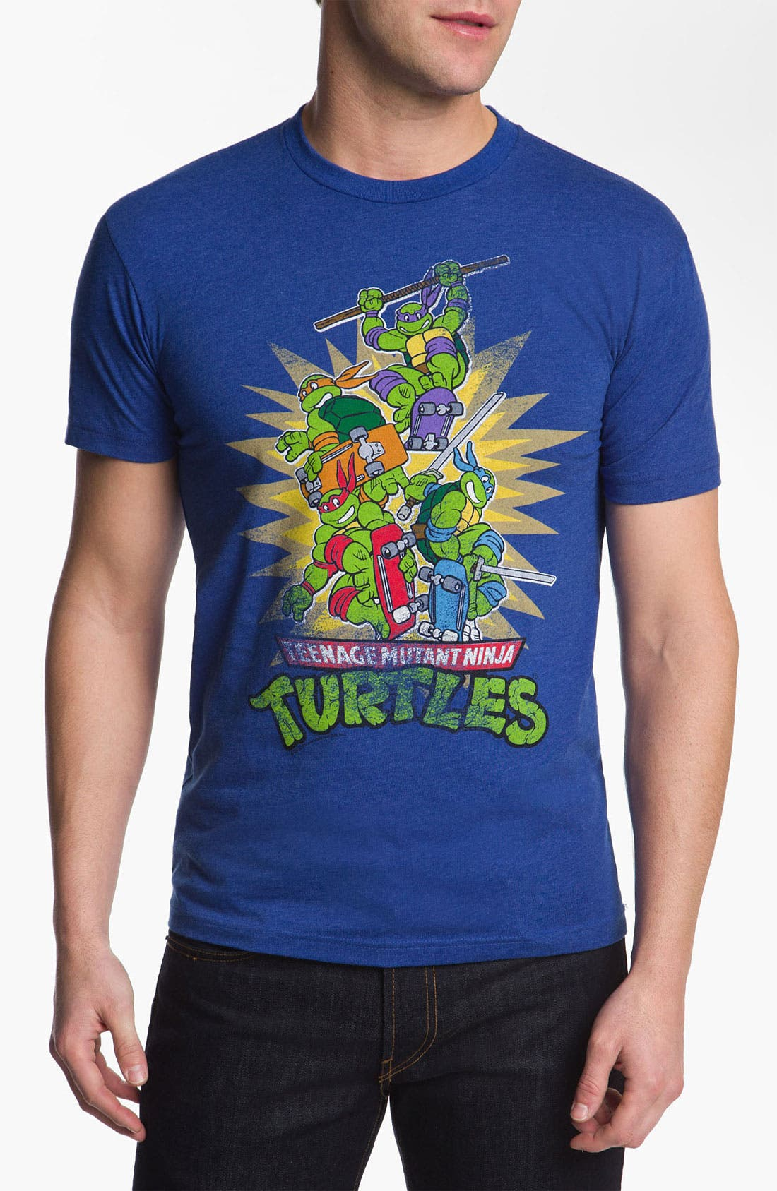 Alternate Image 1 Selected - Free Authority 'Ninja Turtles' Graphic T-Shirt