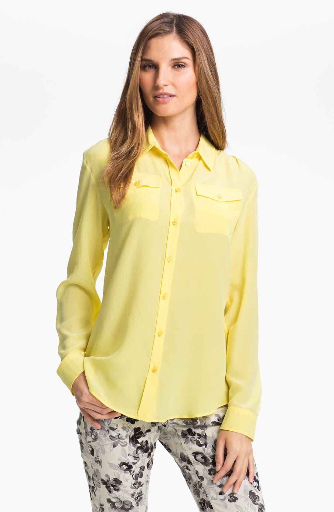 Alternate Image 1 Selected - Max Mara 'Udito' Silk Shirt