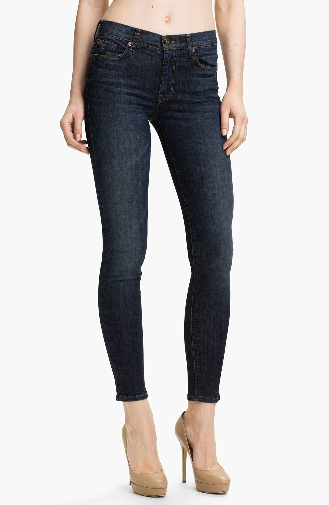 Alternate Image 1 Selected - Hudson Jeans 'Nico' Mid Rise Skinny Jeans (Hoxton)