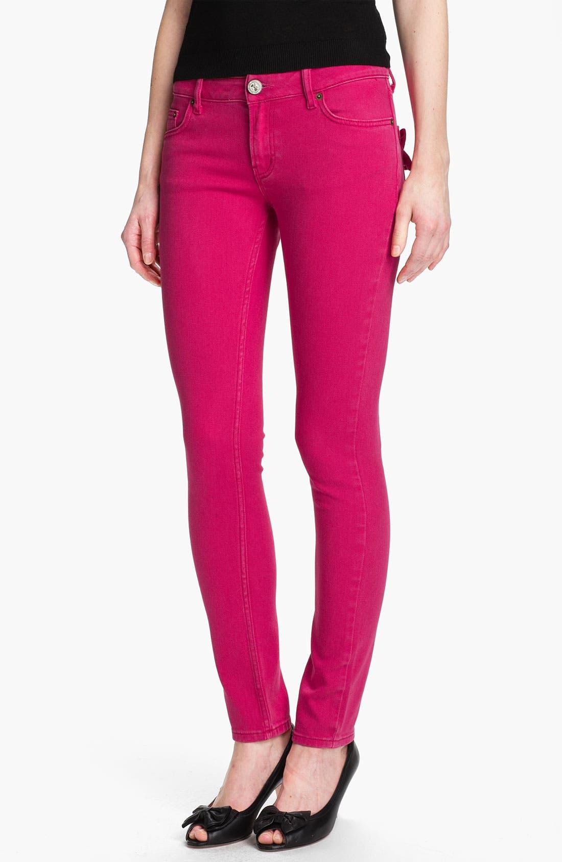 Alternate Image 1 Selected - RED Valentino Skinny Stretch Denim Jeans