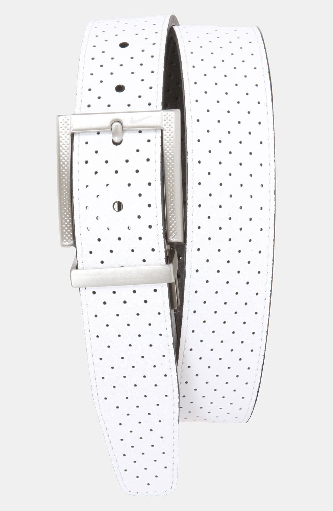 Alternate Image 1 Selected - Nike Reversible Leather Belt