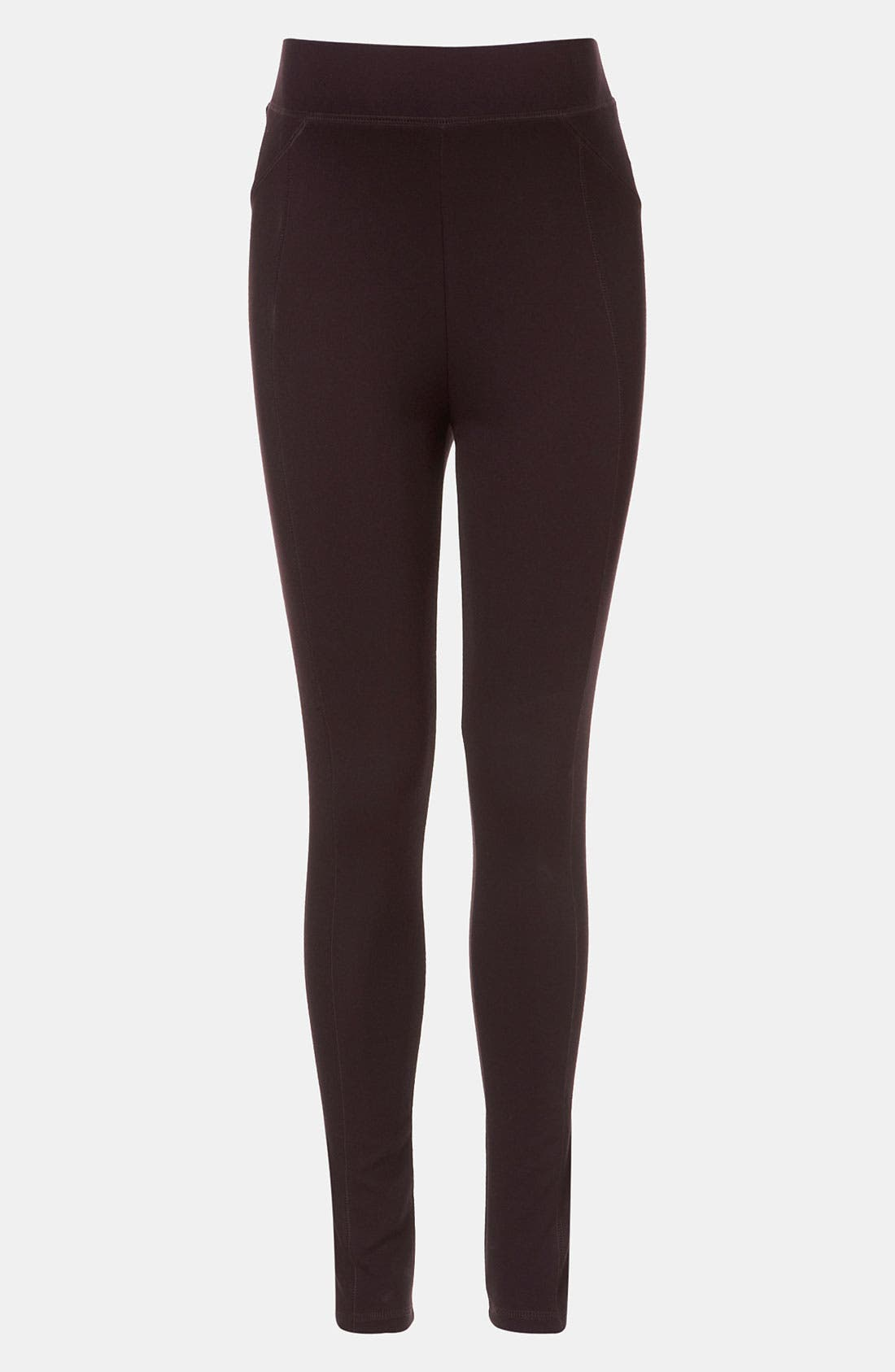 Alternate Image 1 Selected - Topshop Ponte Knit Maternity Leggings