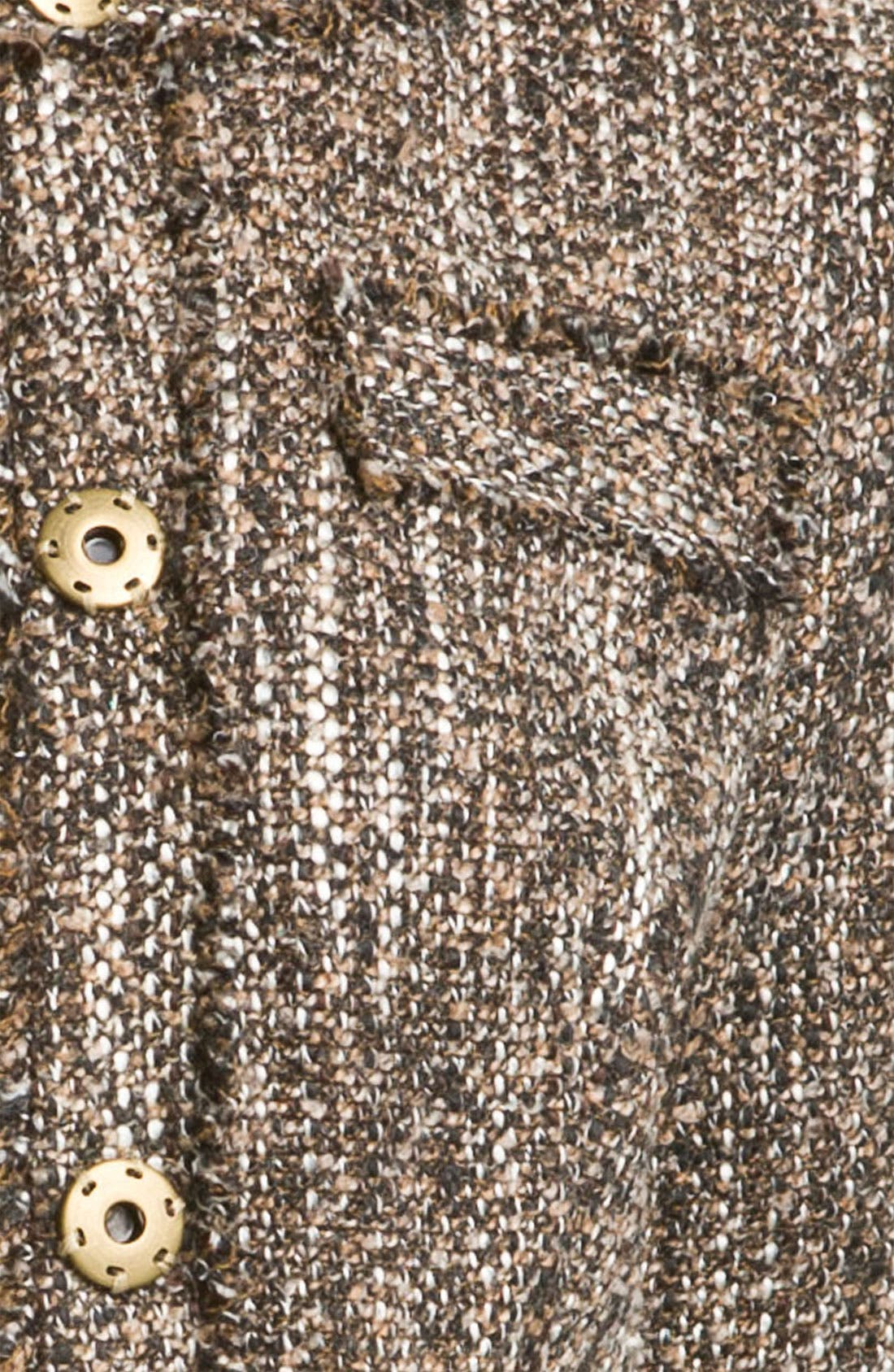 Alternate Image 3  - MICHAEL Michael Kors Tweed Knit Jacket (Petite)
