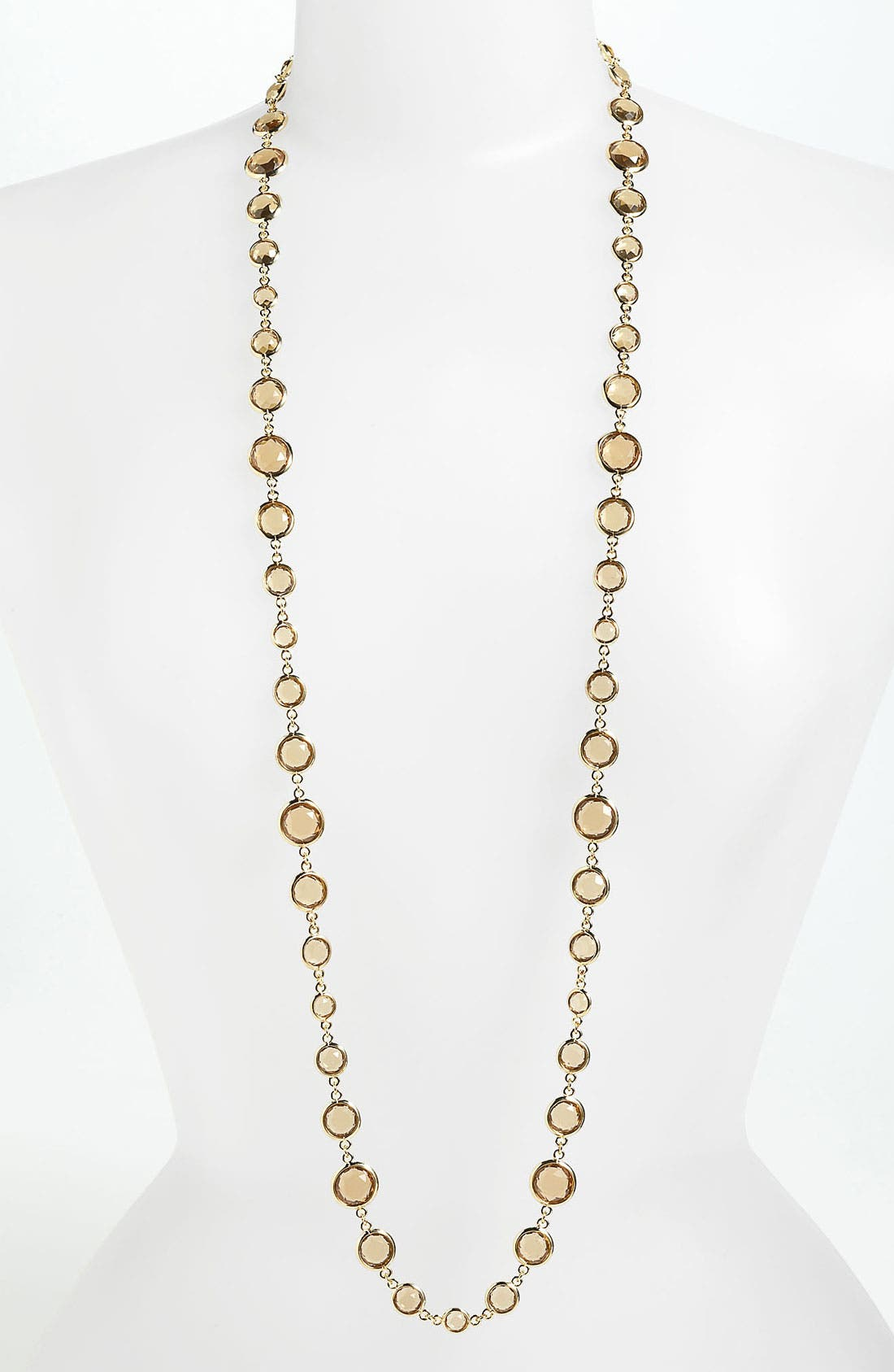 Main Image - Anne Klein Extra Long Station Necklace