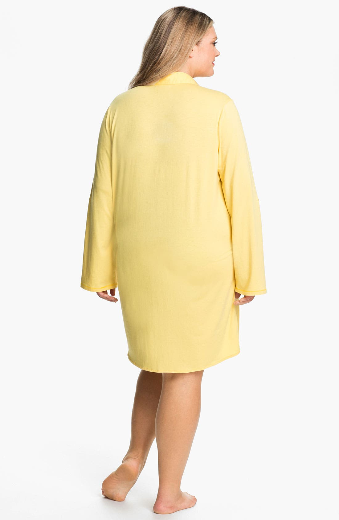 Alternate Image 2  - Shimera 'Mix It Up' Nightshirt (Plus Size)