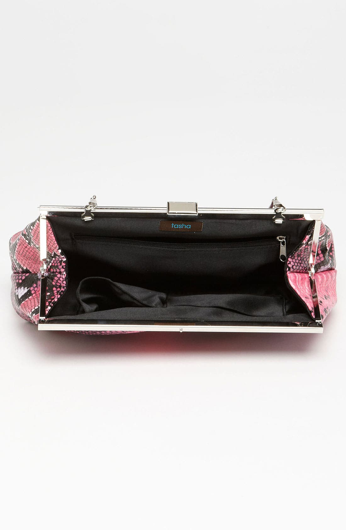 Alternate Image 3  - Natasha Couture Snake Print Clutch