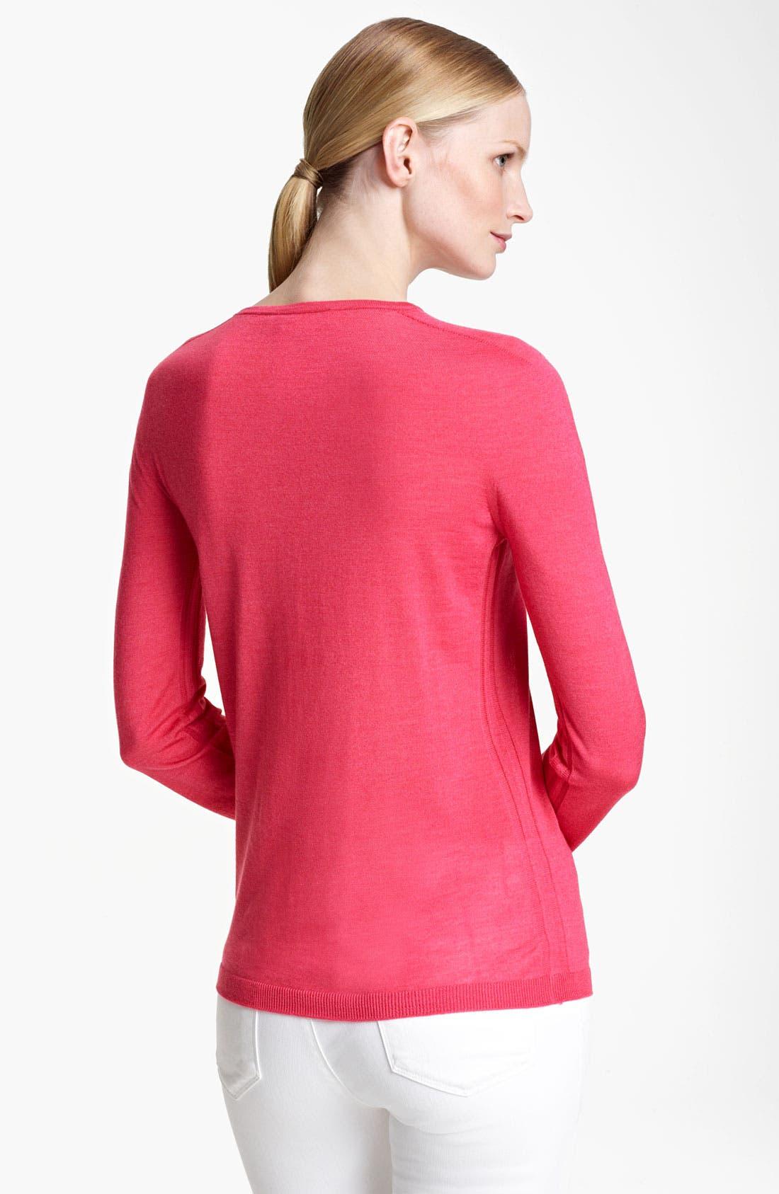 Alternate Image 2  - Jil Sander Cashmere & Silk Sweater