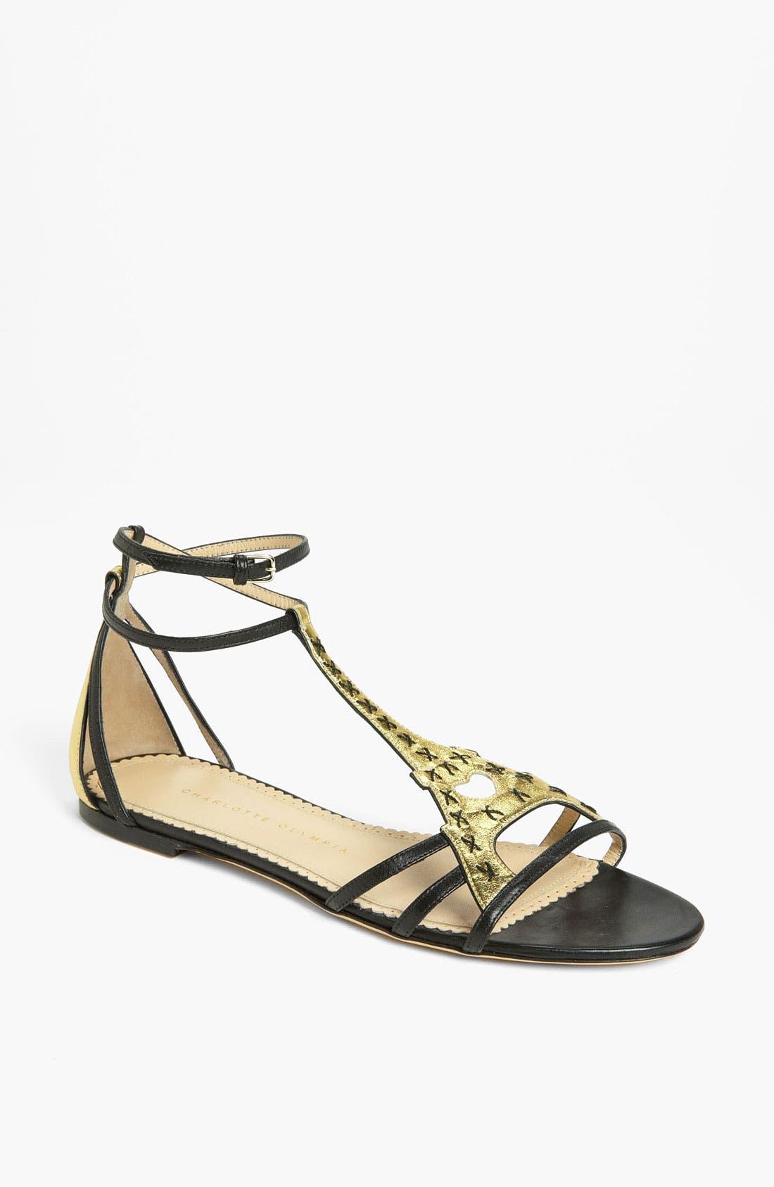 Alternate Image 1 Selected - Charlotte Olympia 'Parisienne' Sandal