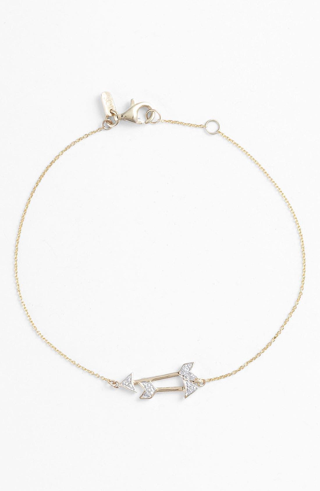 Alternate Image 1 Selected - Whitney Stern Double Arrow Bracelet