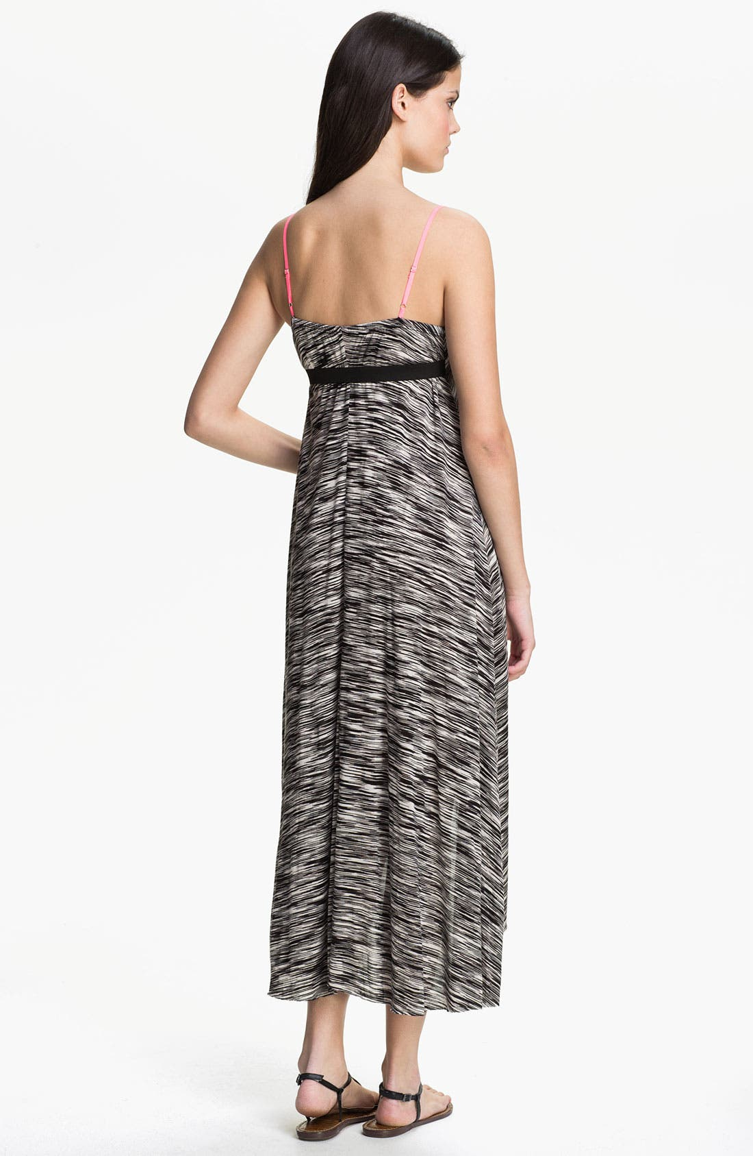 Alternate Image 2  - Eight Sixty Contrast Strap Maxi Dress (Online Exclusive)