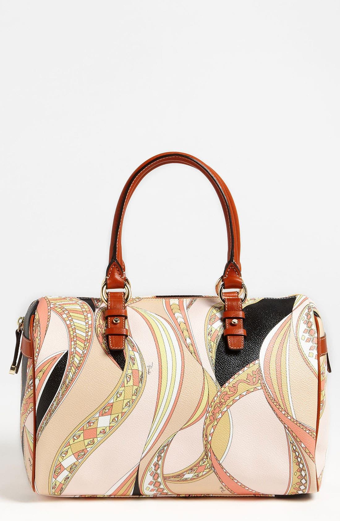 Alternate Image 1 Selected - Emilio Pucci 'Large' Boston Bag