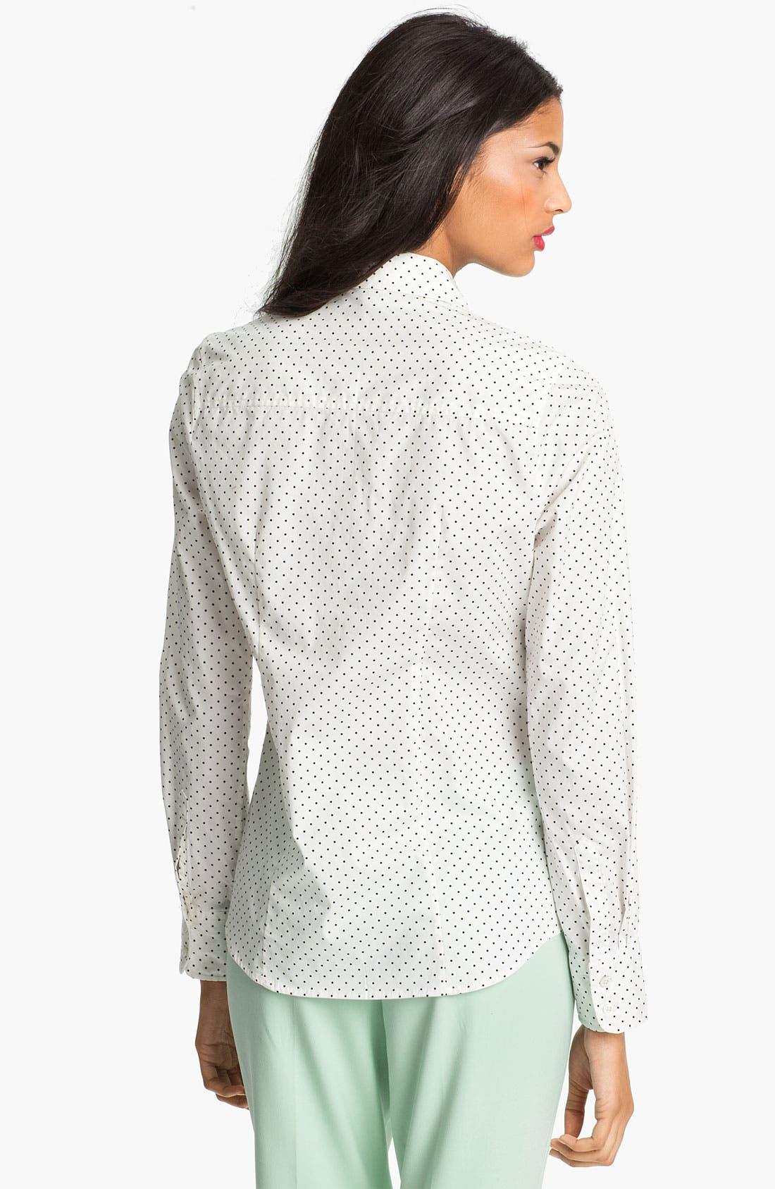 Alternate Image 2  - Current Affair Polka Dot Shirt