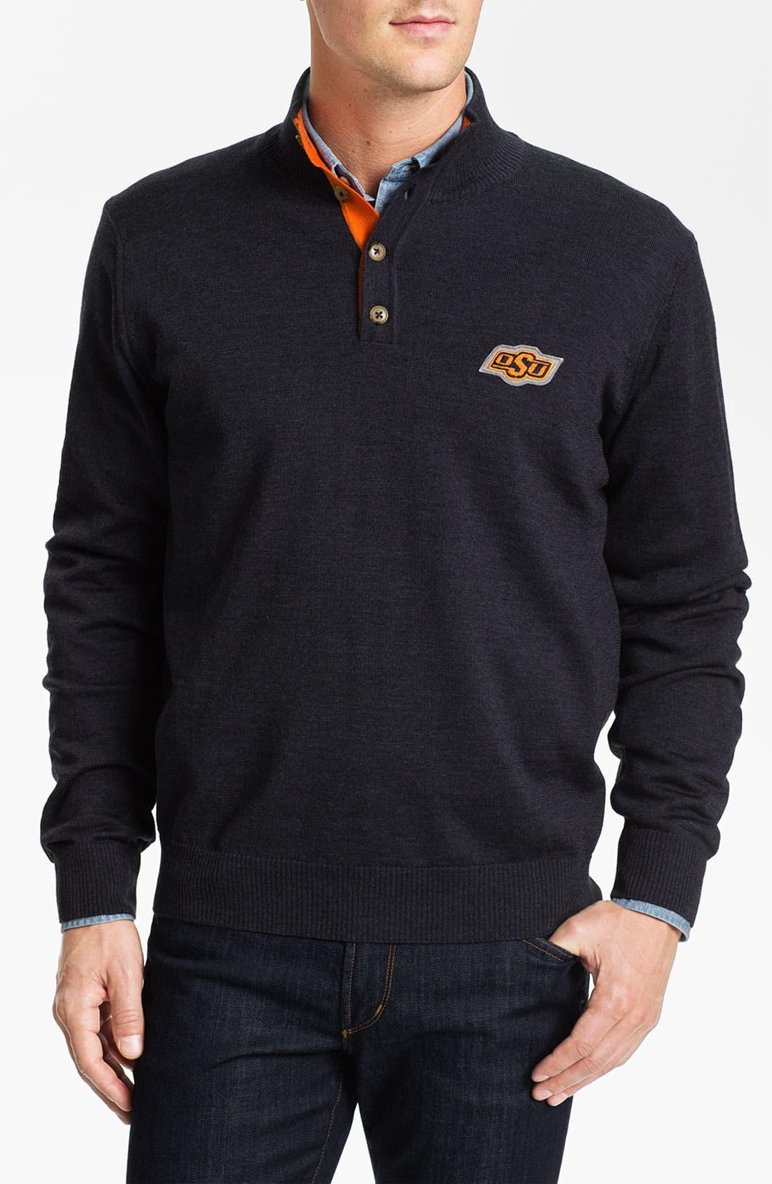 Alternate Image 1 Selected - Thomas Dean 'Oklahoma State' Wool Sweater