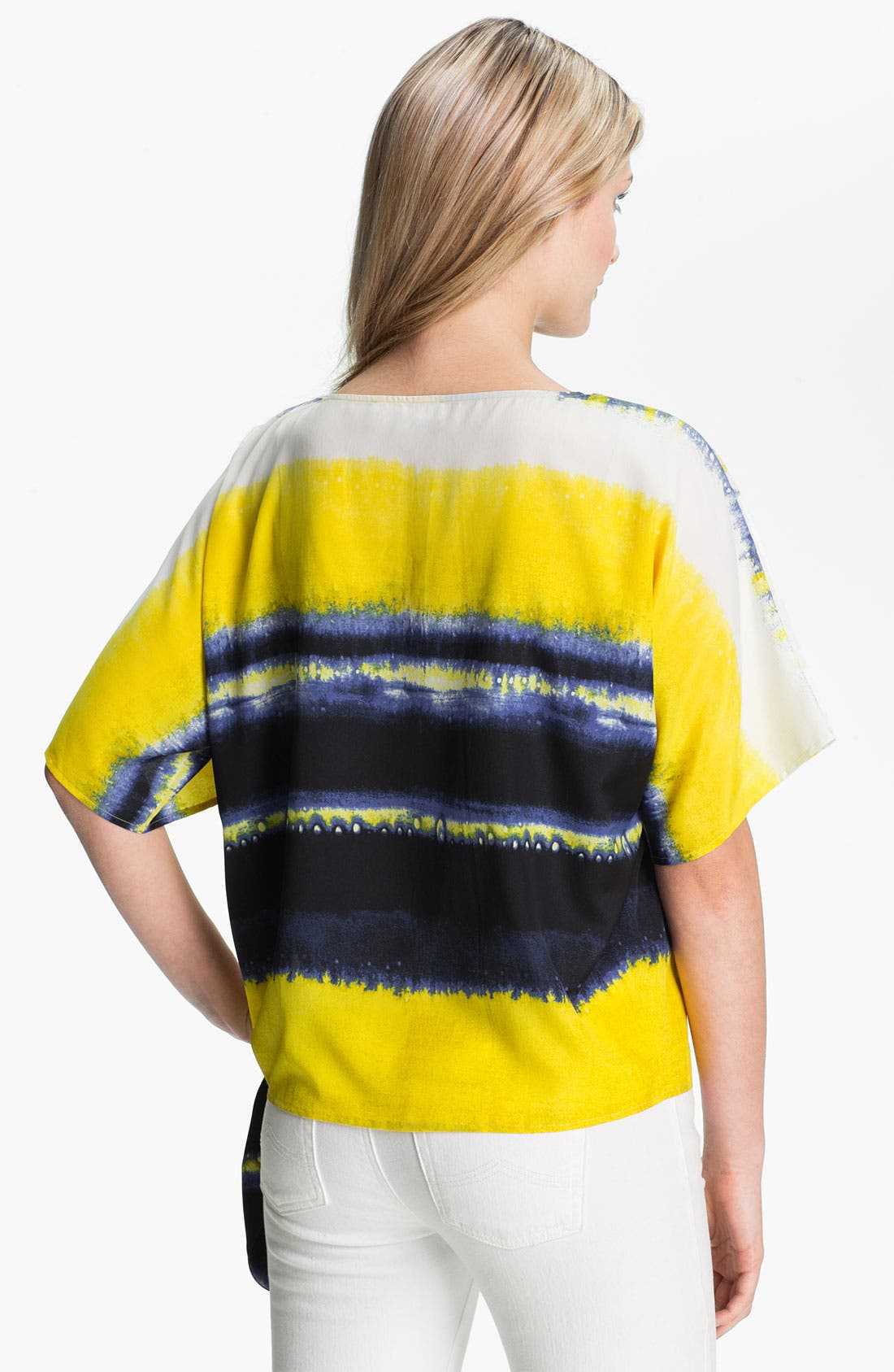 Alternate Image 2  - MICHAEL Michael Kors Stripe Boatneck Top