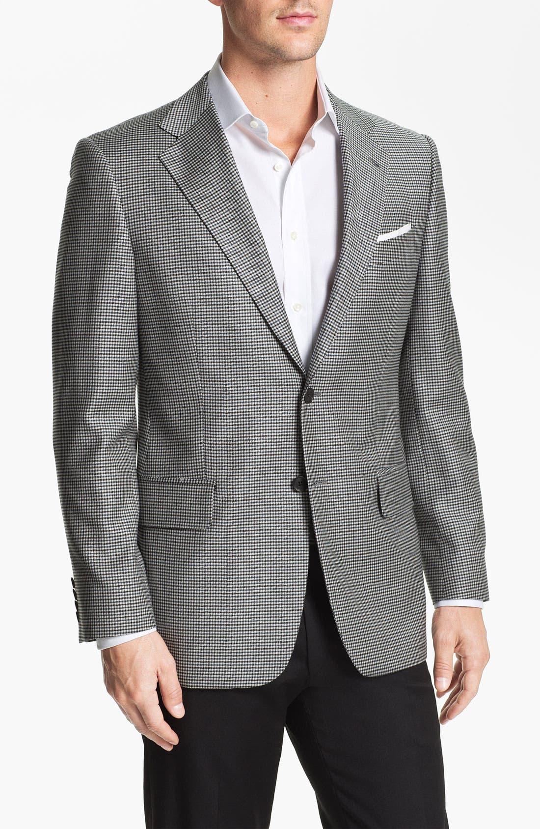 Main Image - Joseph Abboud Check Sportcoat