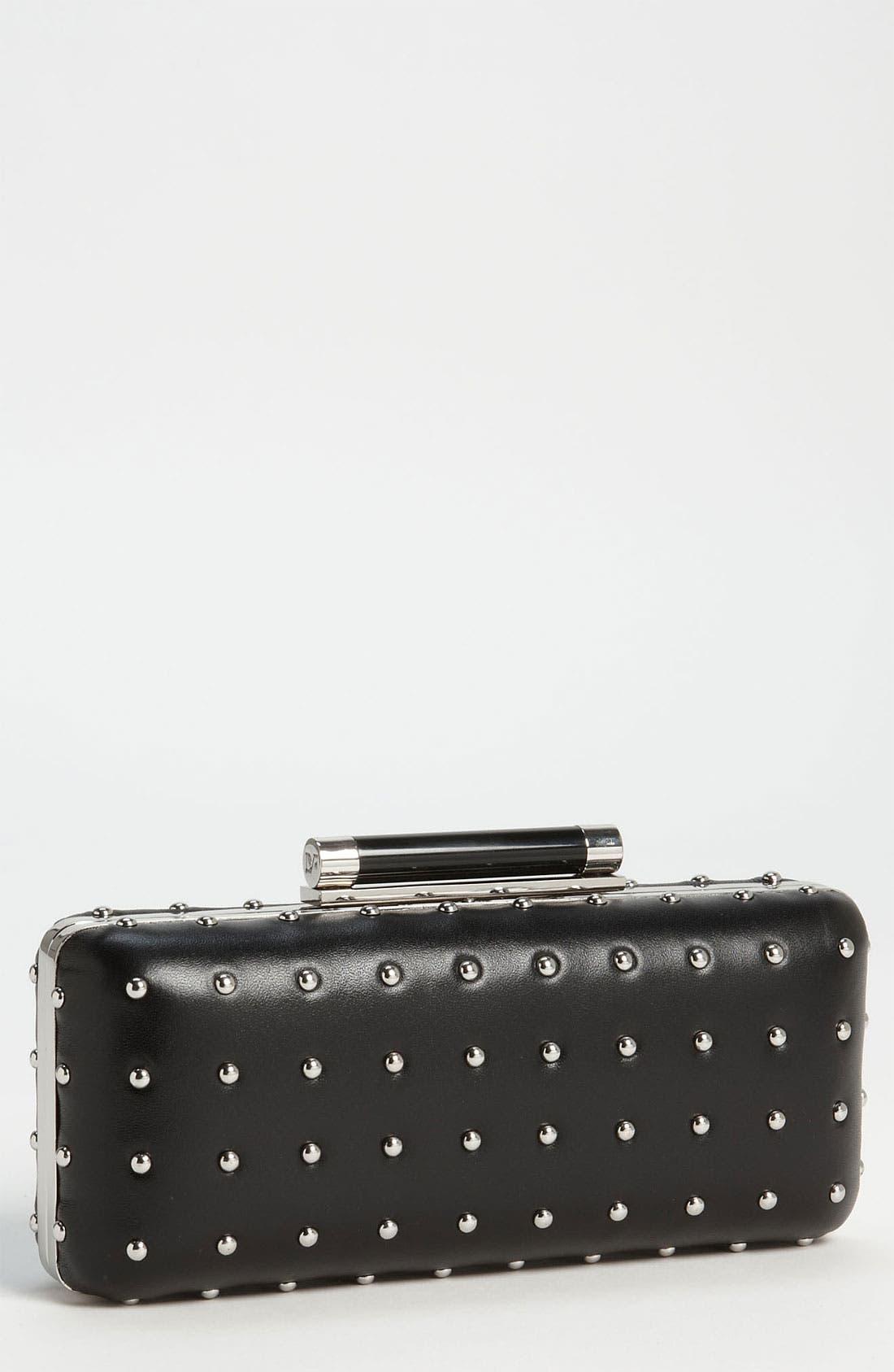 Main Image - Diane von Furstenberg 'Tonda' Studded Clutch
