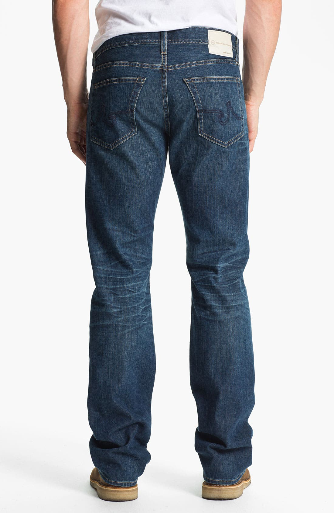 Alternate Image 2  - AG Jeans 'Protégé' Straight Leg Jeans (Thirteen Year Smooth)