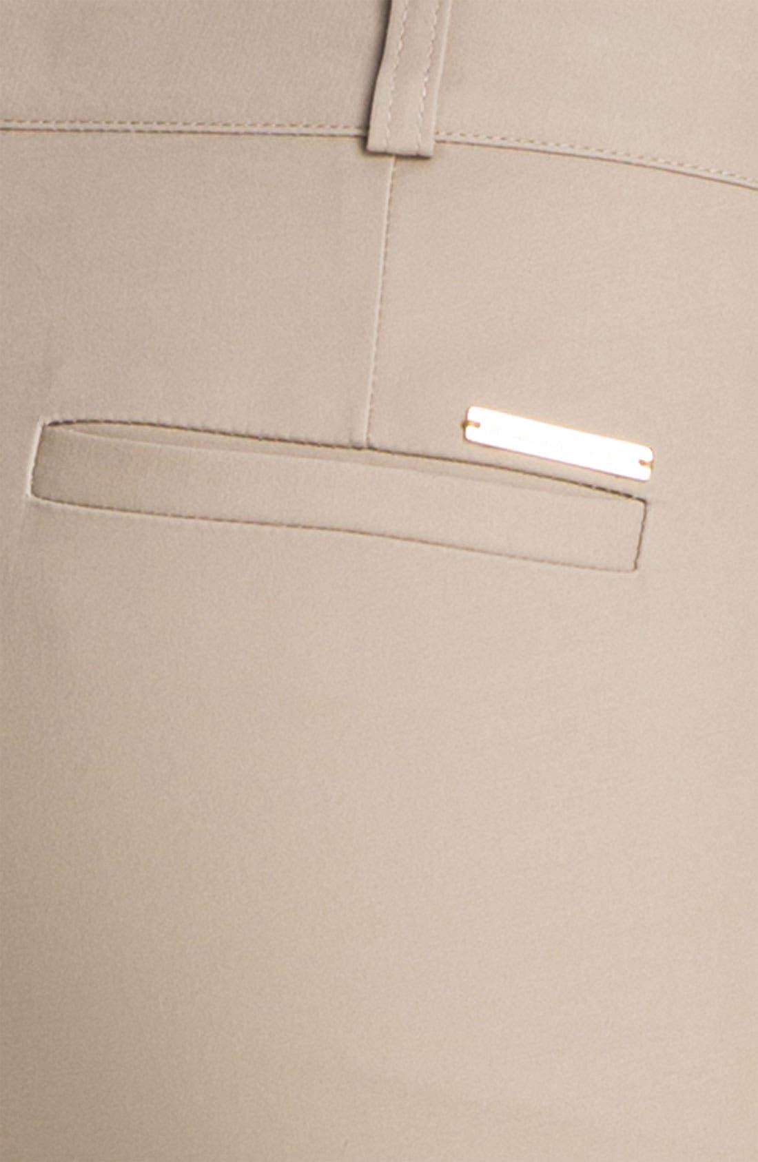 Alternate Image 3  - MICHAEL Michael Kors Skinny Ankle Pants (Regular & Petite)