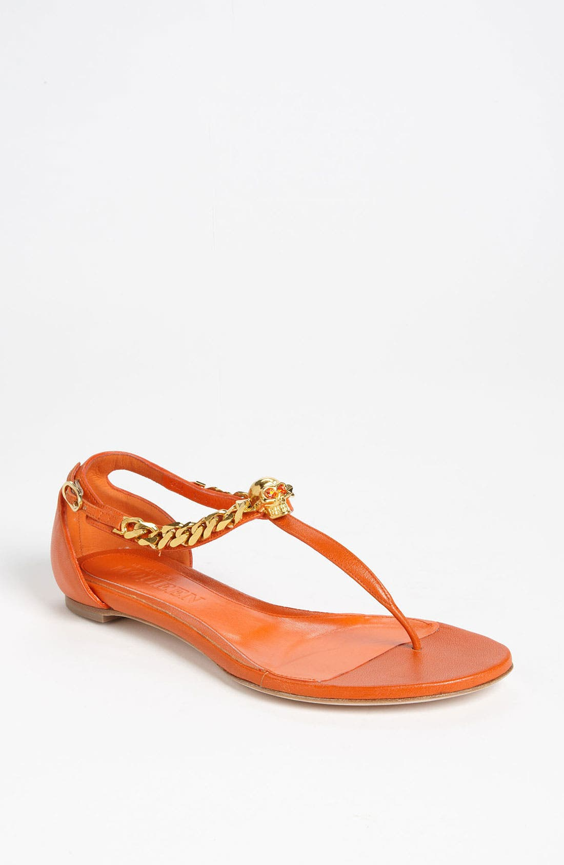 Alternate Image 1 Selected - Alexander McQueen Flat Sandal