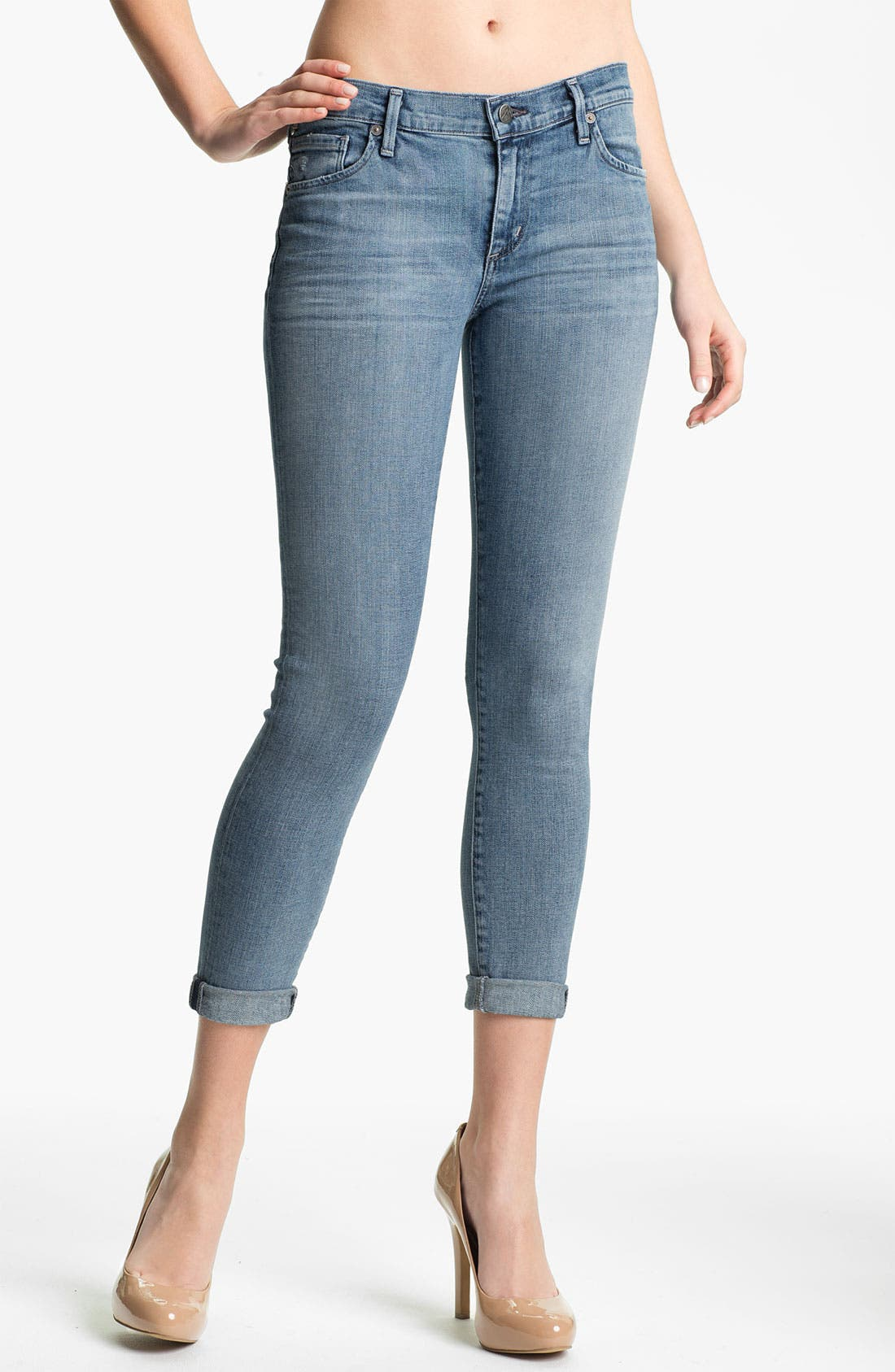 Alternate Image 1 Selected - Citizens of Humanity 'Thompson' Skinny Stretch Jeans (Crystal)