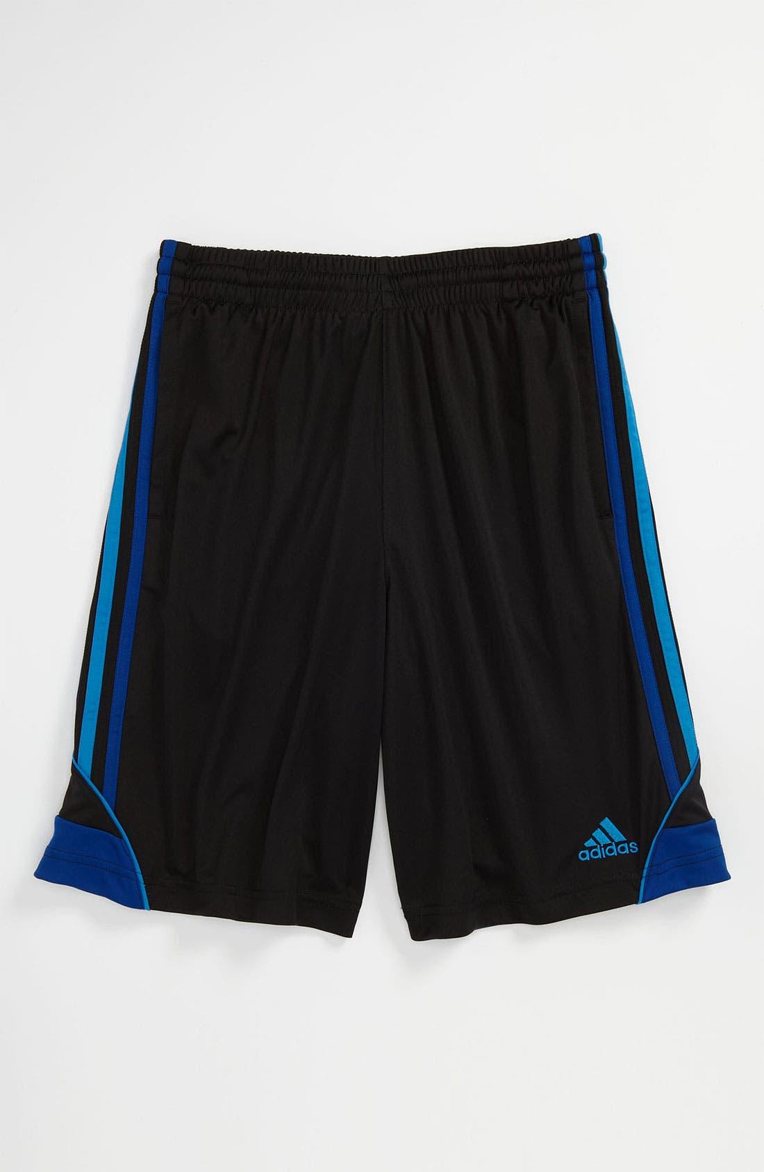 Alternate Image 1 Selected - adidas '3G Speed' Shorts (Big Boys)