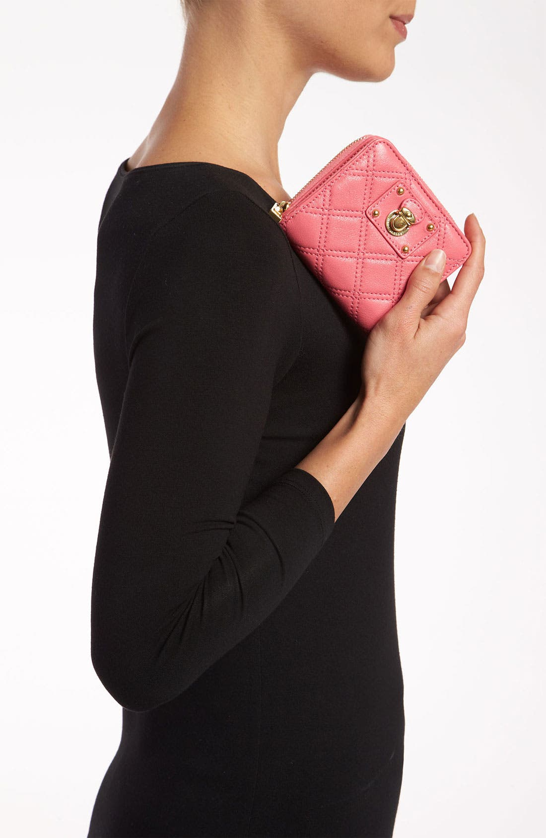Alternate Image 2  - MARC JACOBS 'Quilting Anabela' French Wallet