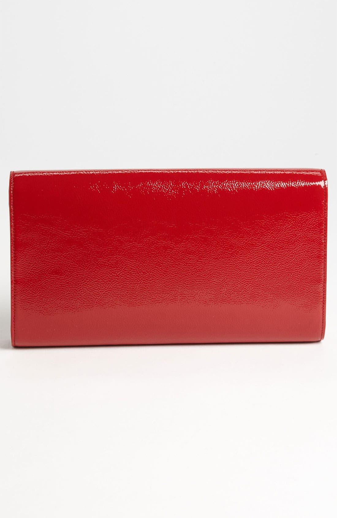 Alternate Image 4  - Saint Laurent 'Belle de Jour' Patent Leather Clutch