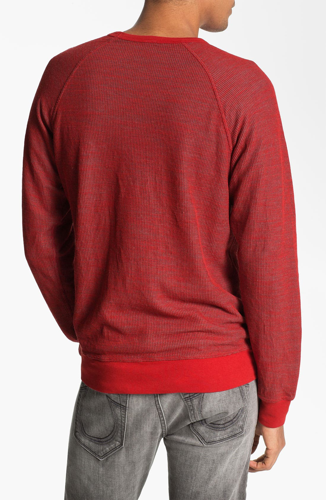 Alternate Image 2  - Splendid Mills Reversible Crewneck Sweatshirt