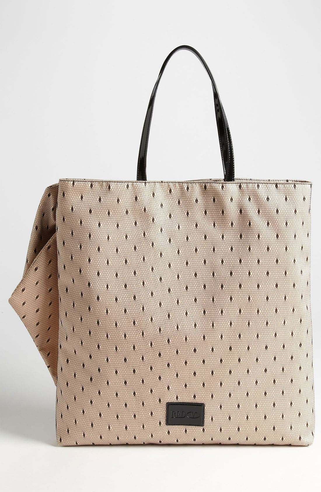 Alternate Image 4  - RED Valentino 'Bow' Point D'Esprit Tote