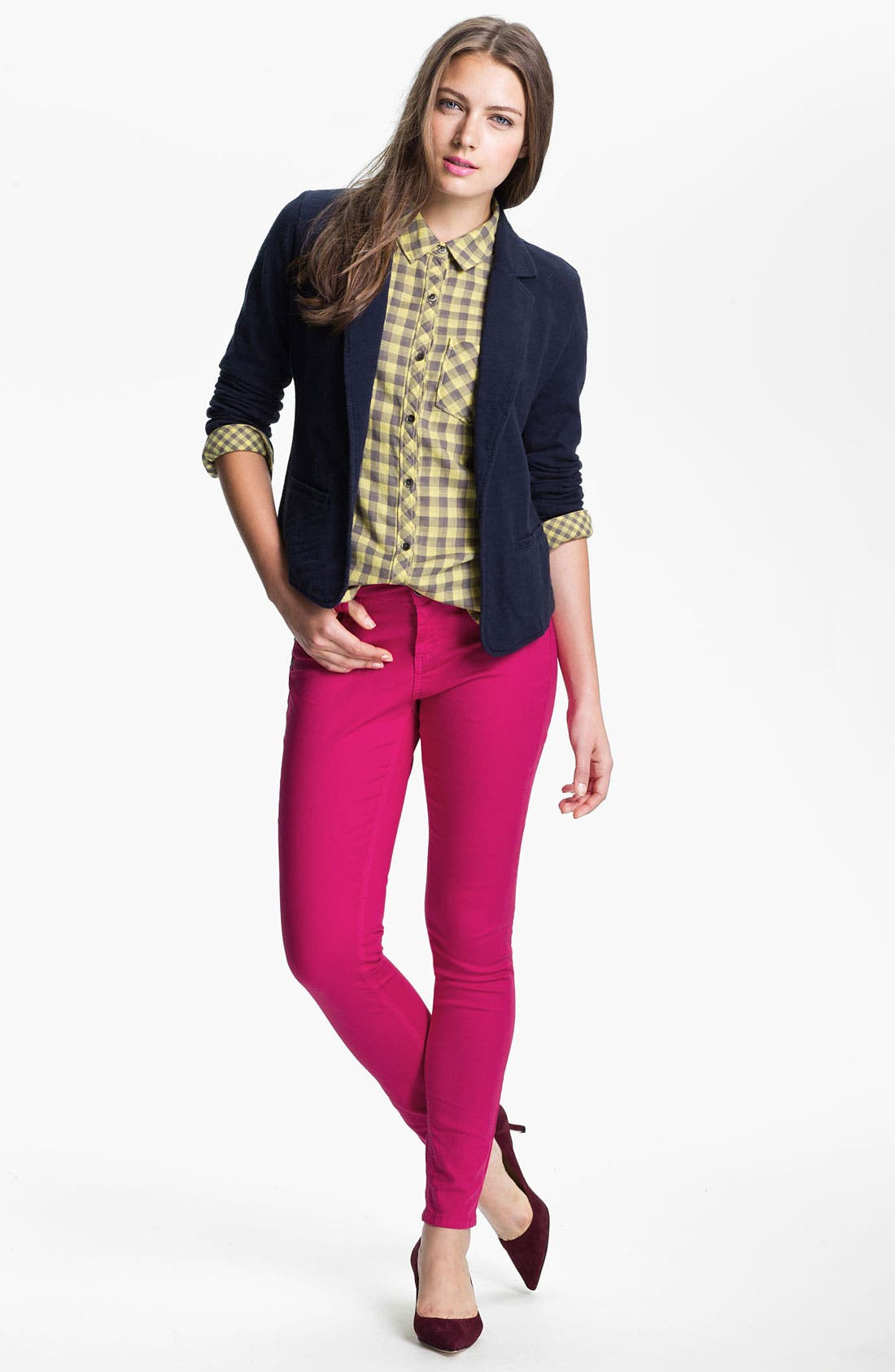 Alternate Image 4  - Wit & Wisdom Color Skinny Jeans (Nordstrom Exclusive)