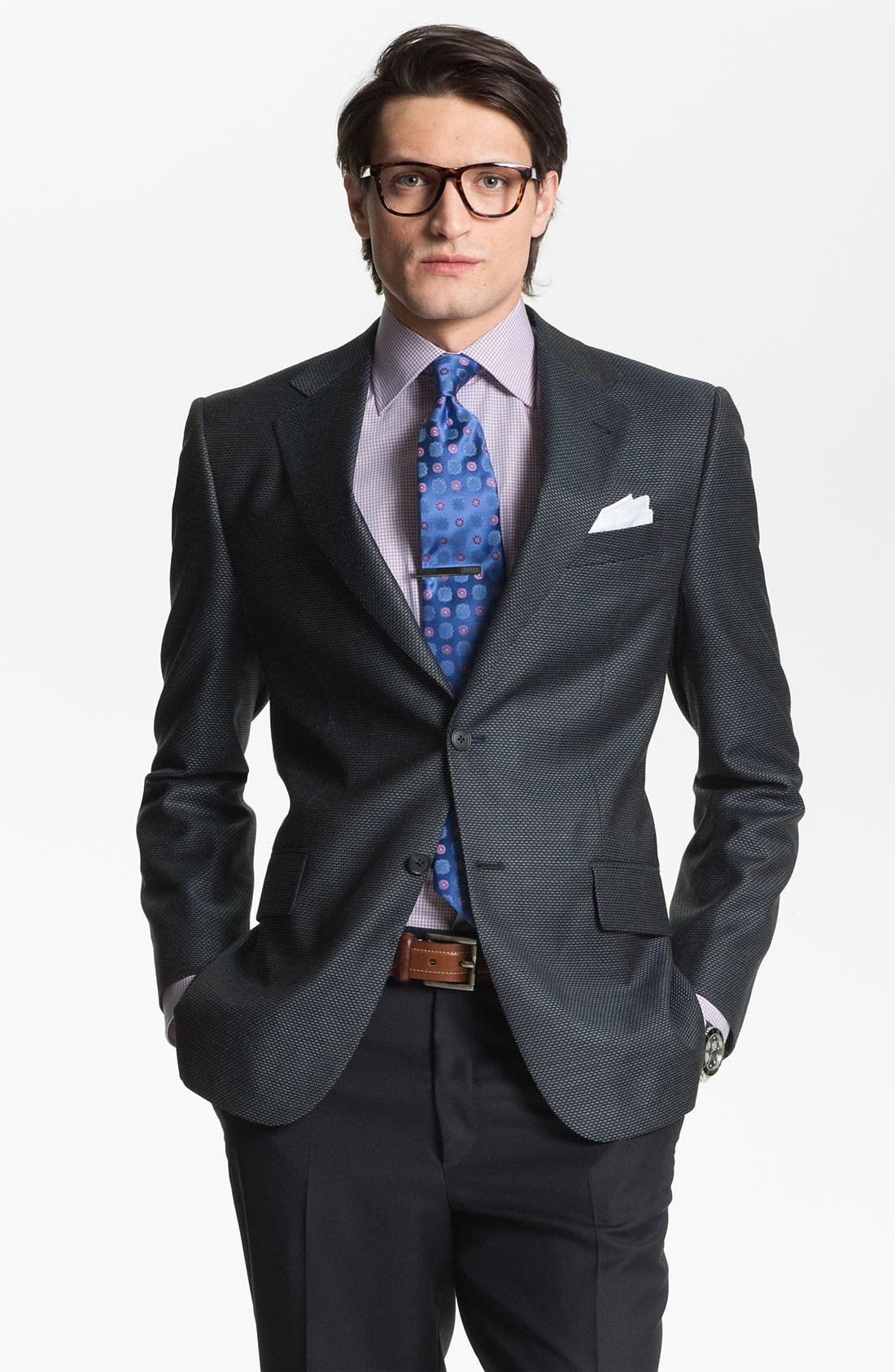 Alternate Image 1 Selected - Joseph Abboud 'Signature Silver' Wool Blend Blazer