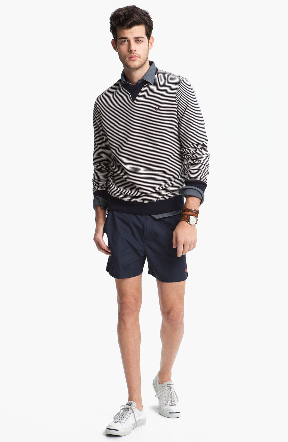 Alternate Image 2  - Fred Perry Sweater & Shorts