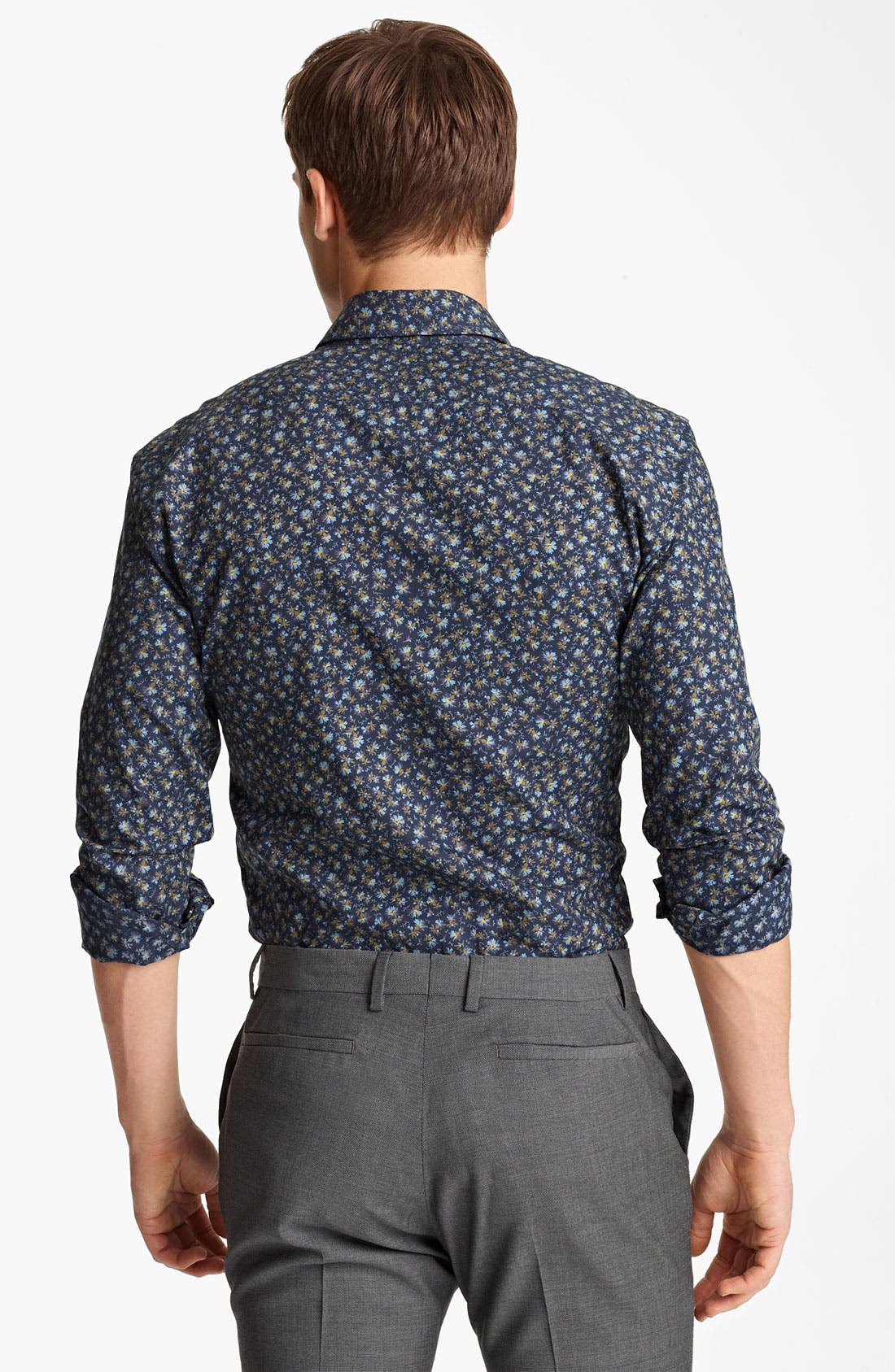 Alternate Image 2  - Paul Smith London Floral Print Shirt