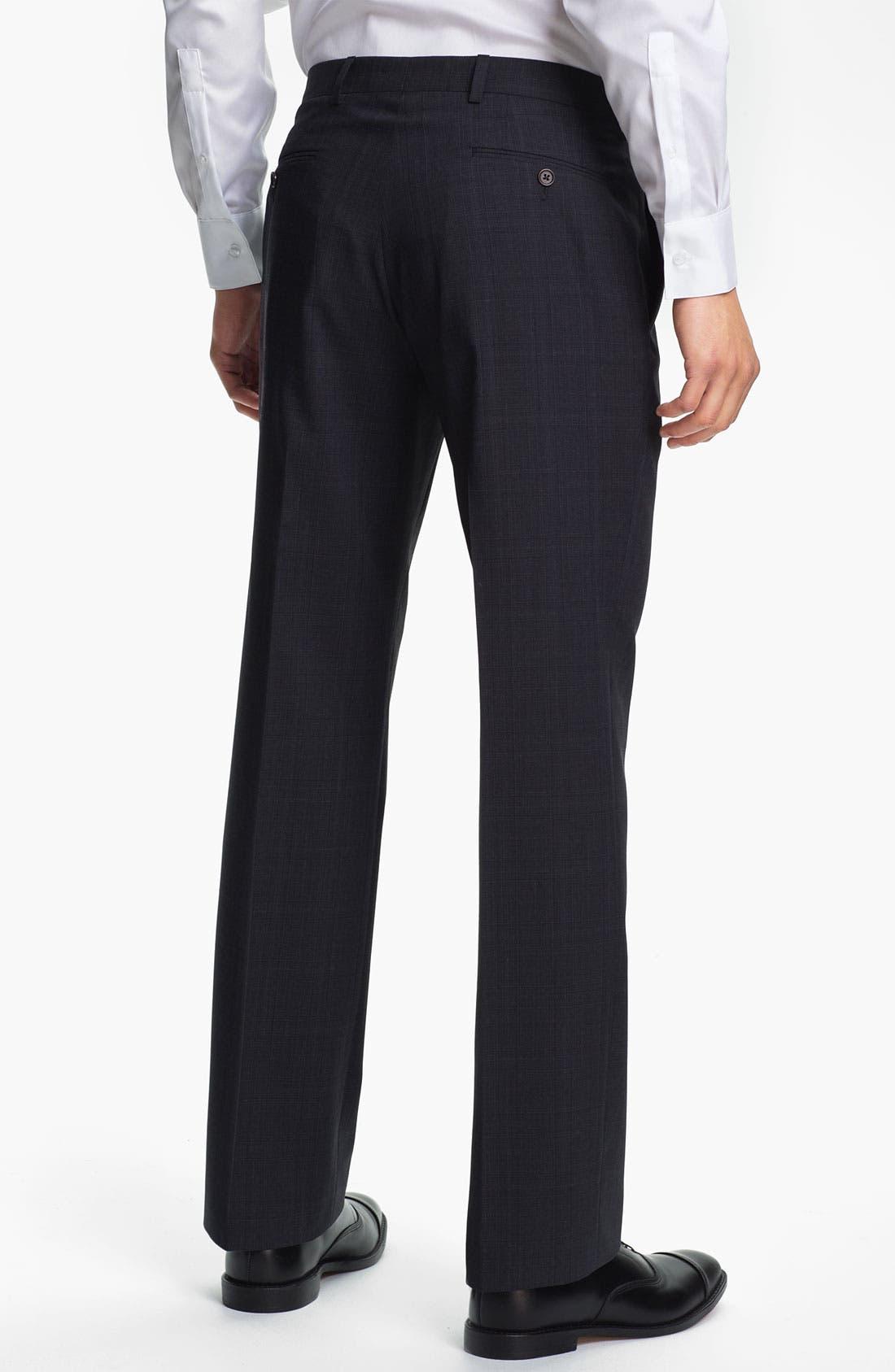 Alternate Image 5  - John Varvatos Star USA 'Irving' Trim Fit Three Piece Suit
