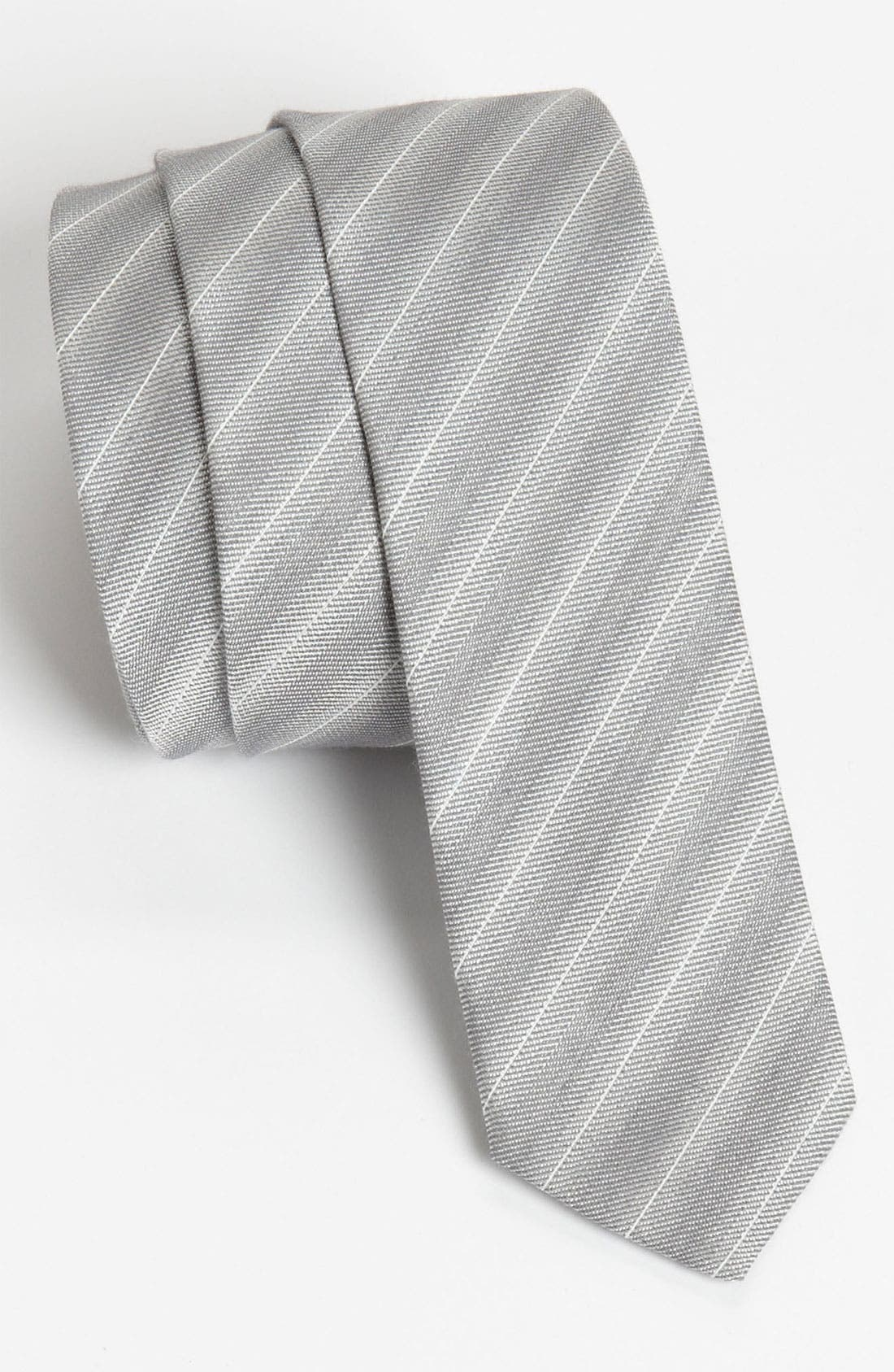 Alternate Image 1 Selected - Hugo Stripe Woven Tie