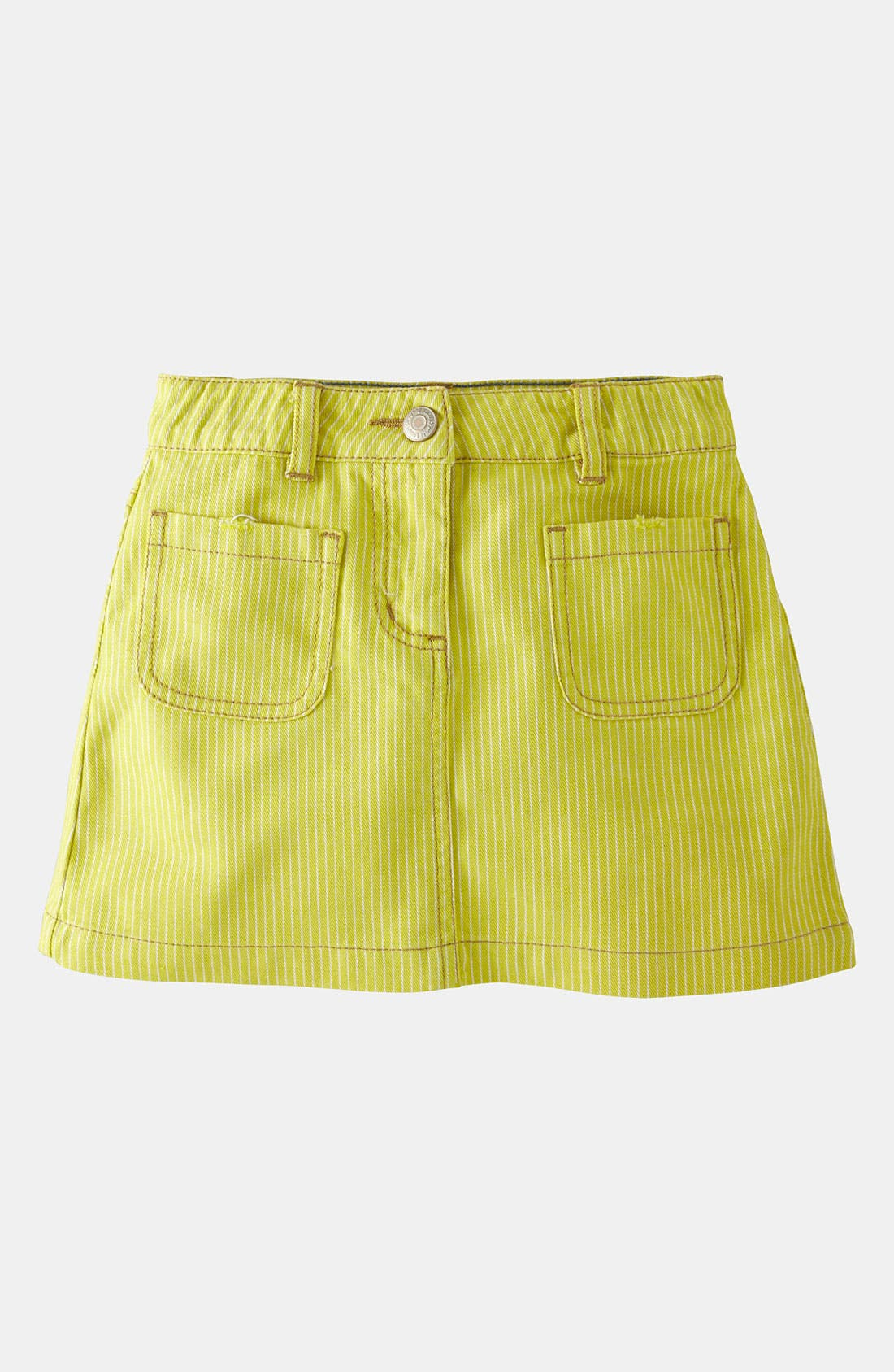 Alternate Image 1 Selected - Mini Boden 'Patch Pocket' Skirt (Little Girls & Big Girls)