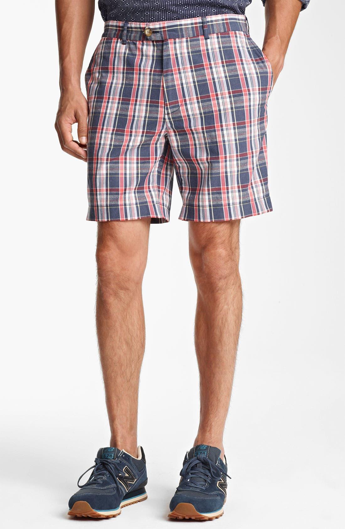 Alternate Image 1 Selected - Jack Spade 'Sharpe' Plaid Shorts