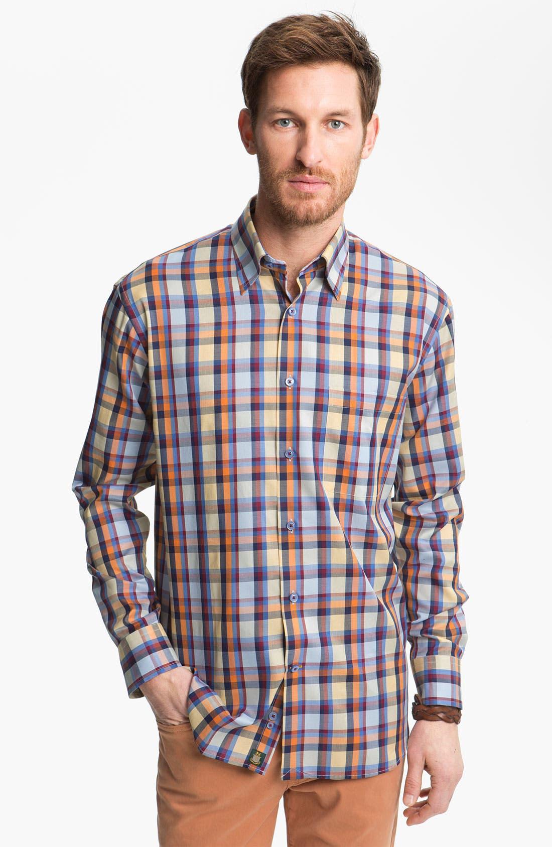 Alternate Image 1 Selected - Robert Talbott Regular Fit Sport Shirt