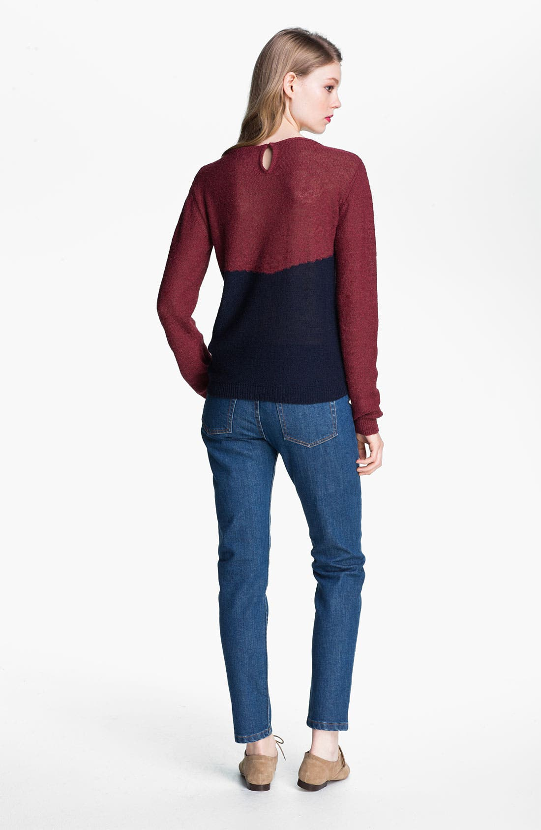 Alternate Image 3  - A.P.C. Slim Leg Crop Jeans