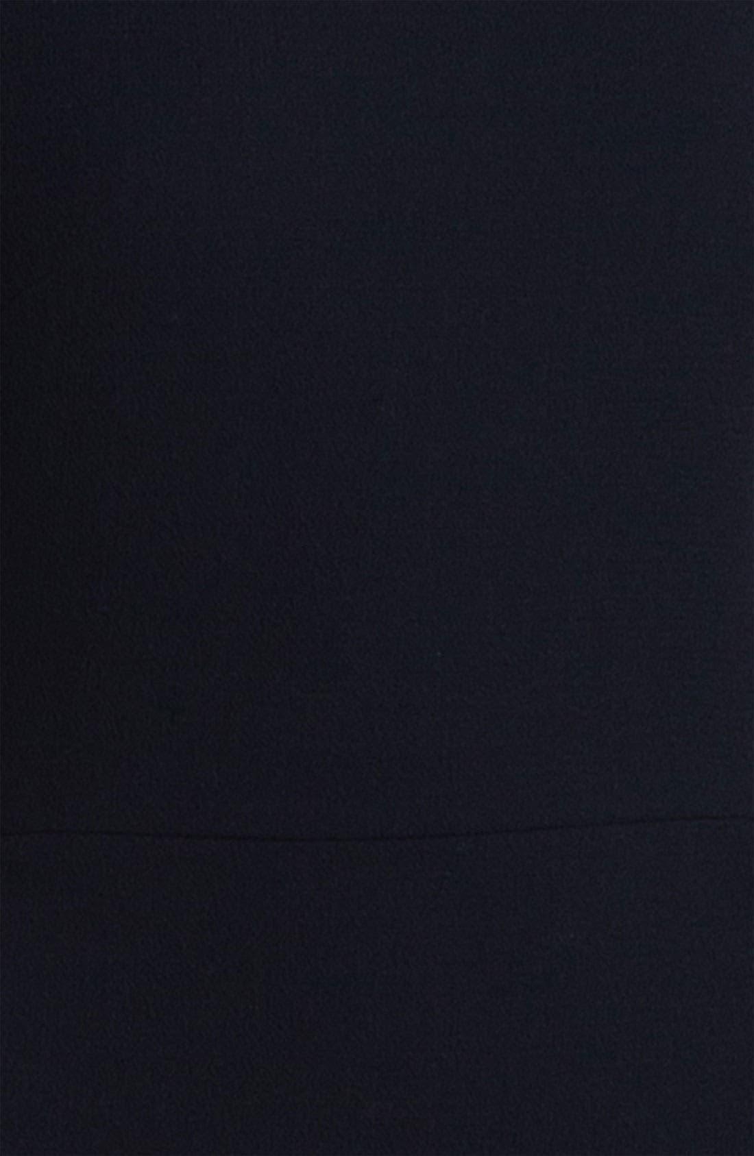 Alternate Image 3  - Victoria, Victoria Beckham Textured Wool Dress