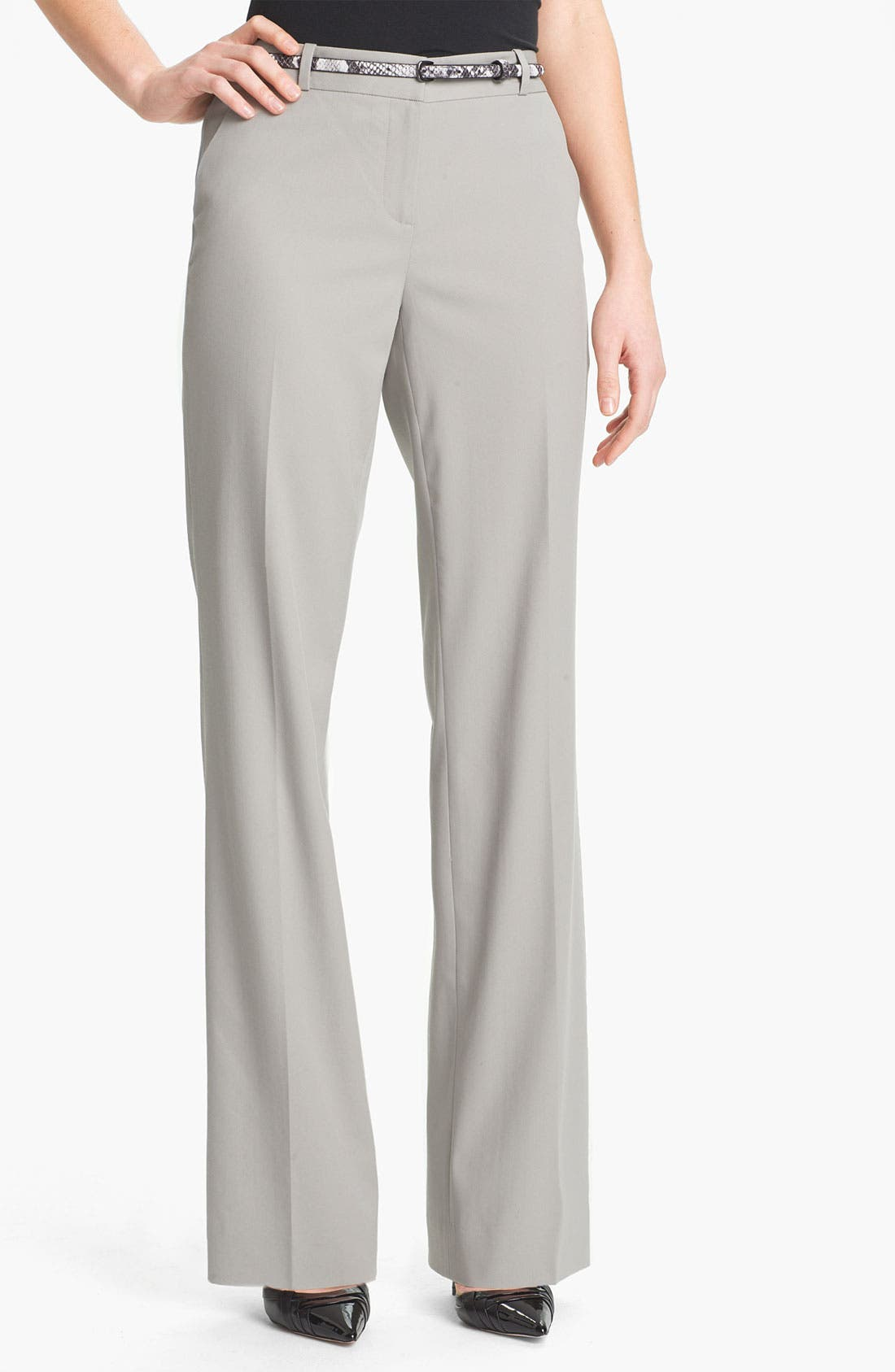 Alternate Image 1 Selected - Classiques Entier® Stretch Wool Twill Pants