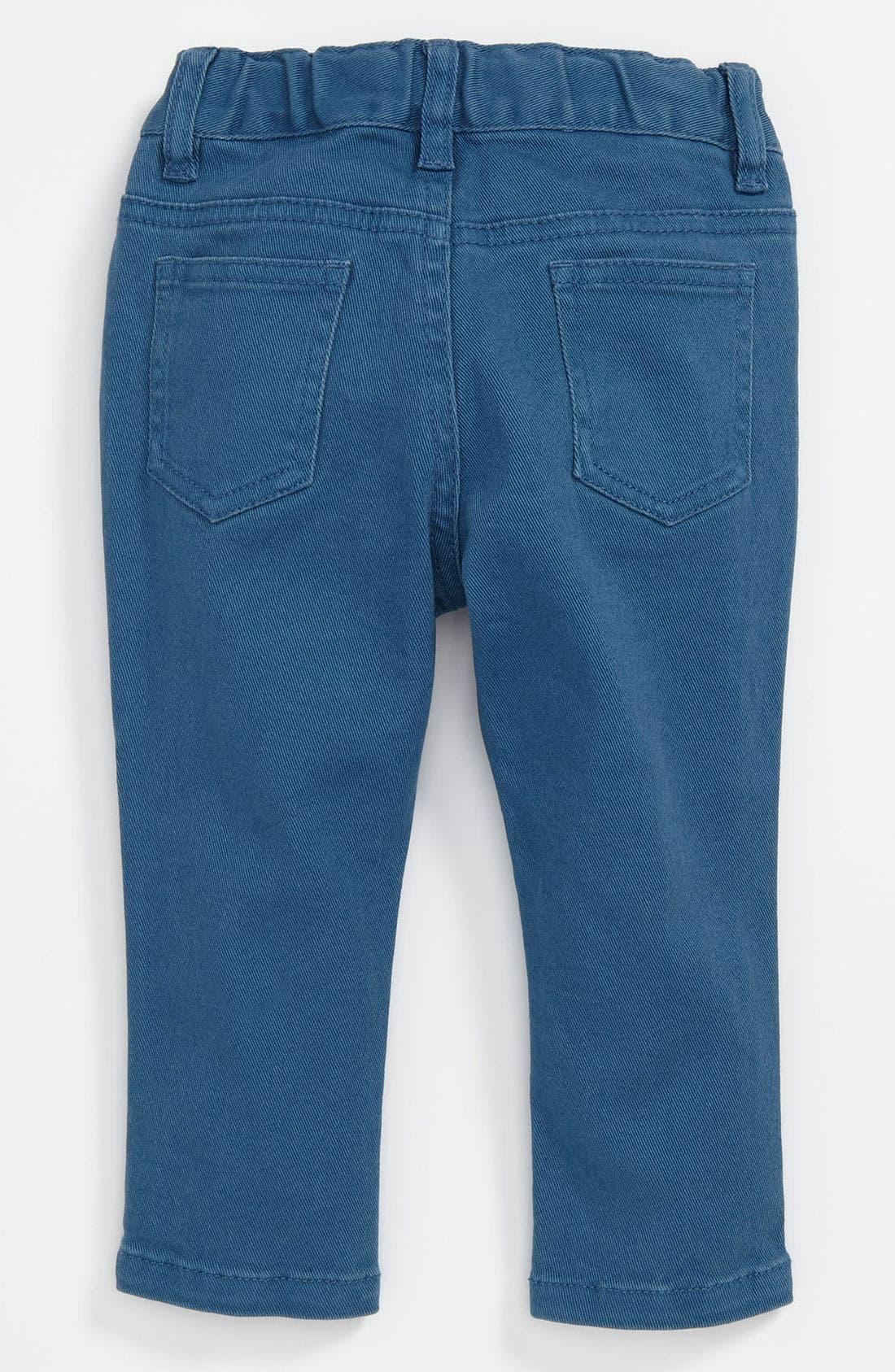 Alternate Image 1 Selected - Pumpkin Patch 'Slim Fit' Color Jeans (Toddler)