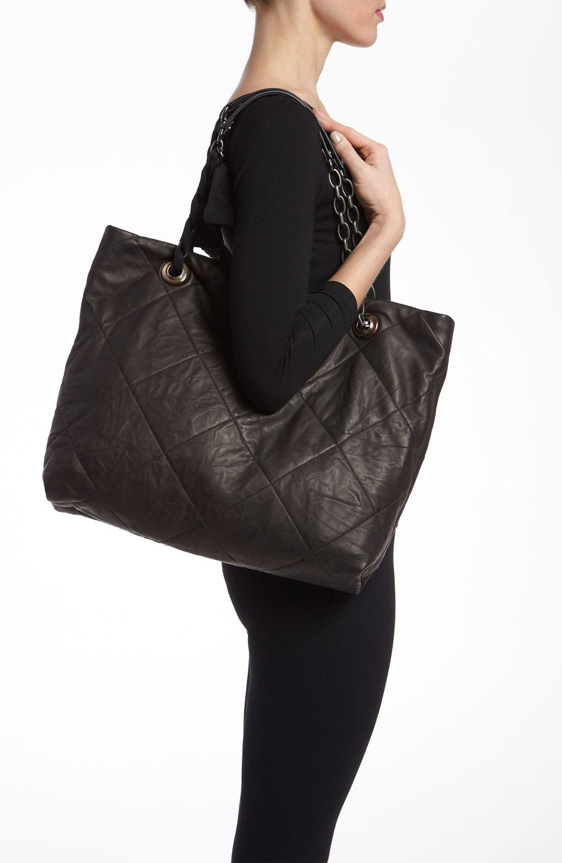 Alternate Image 2  - Lanvin 'Amalia Cabas - Large' Leather Tote