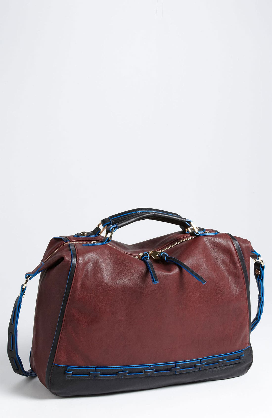 Alternate Image 1 Selected - Joelle Hawkens by Treesje 'Cove' Tricolor Satchel