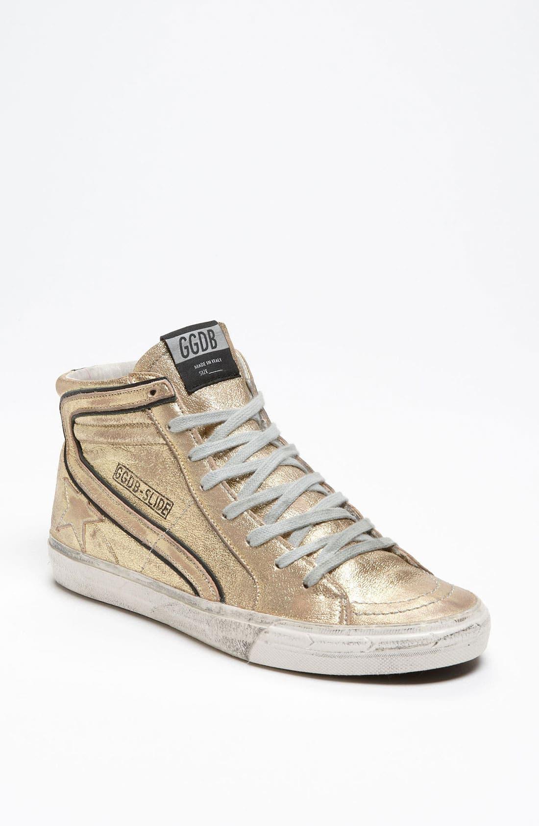 Alternate Image 1 Selected - Golden Goose 'Mid Top Slide' Sneaker