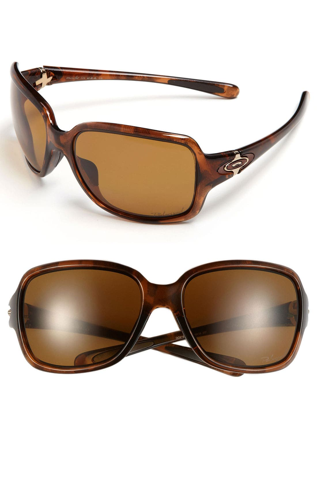 Main Image - Oakley 'Break Point™' 61mm Polarized Sunglasses