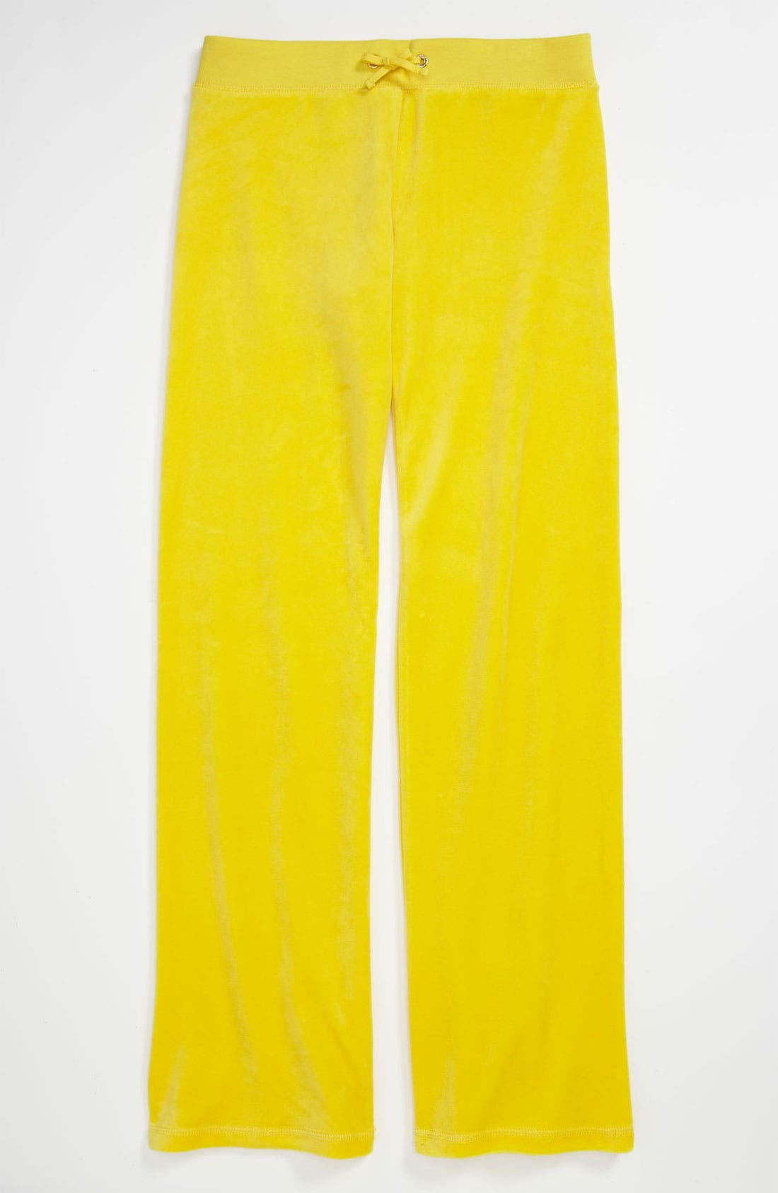 Alternate Image 1 Selected - Juicy Couture 'Basic' Velour Pants (Little Girls & Big Girls)