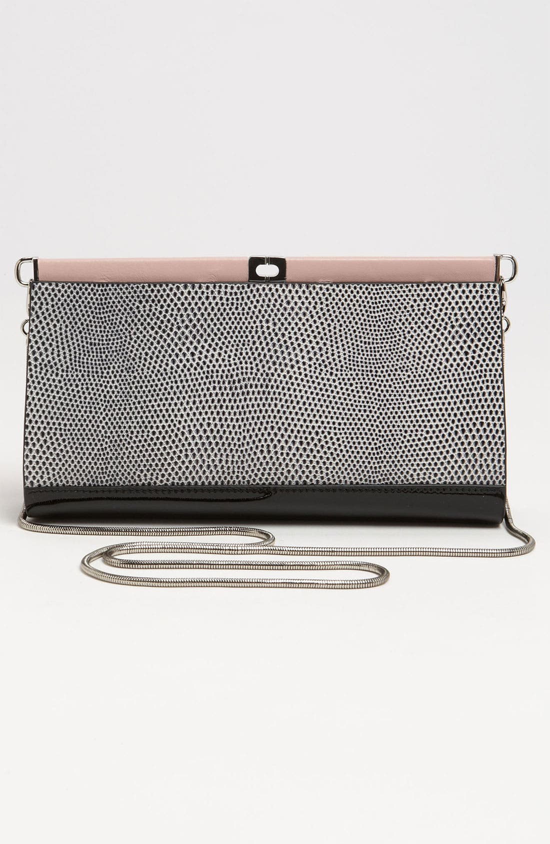 Alternate Image 4  - Diane von Furstenberg 'Olivia' Embossed Clutch